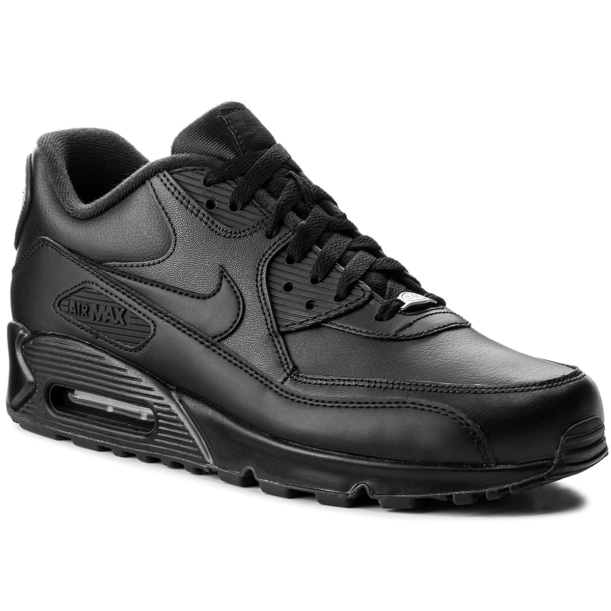 Topánky NIKE - Air Max 90 Leather 302519 001 Black/Black