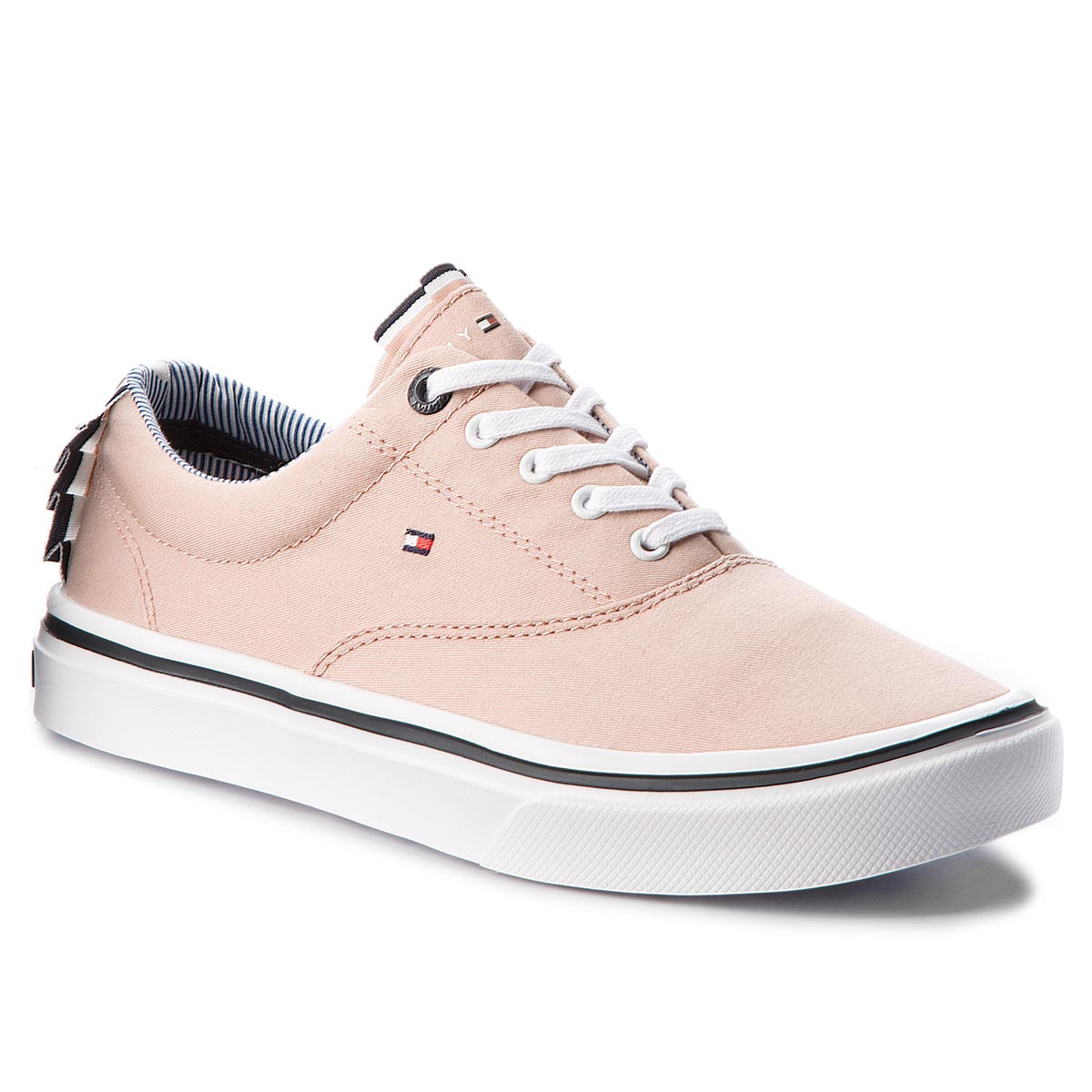 Tenisky TOMMY HILFIGER - Textile Light Weight Sneaker FW0FW02809 Dusty Rose 502