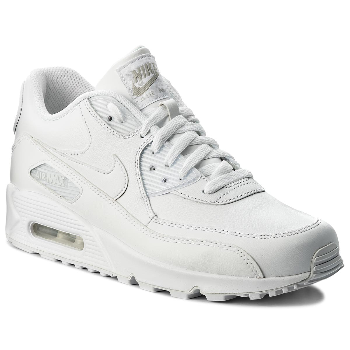 Topánky NIKE - Air Max 90 Leather 302519 113 True White/True White