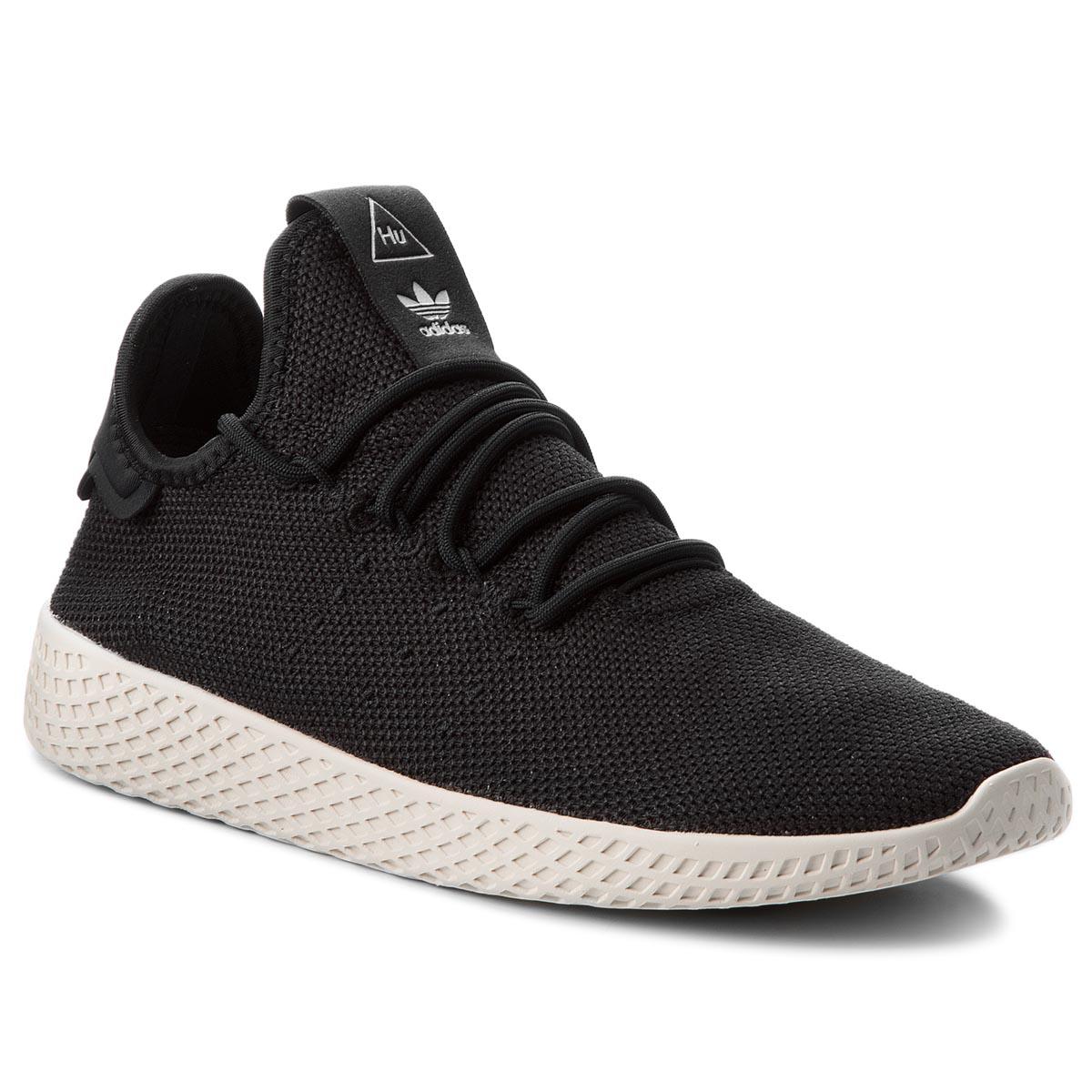 Topánky adidas - Pw Tennis Hu AQ1056  Cblack/Cblack/Cwhite