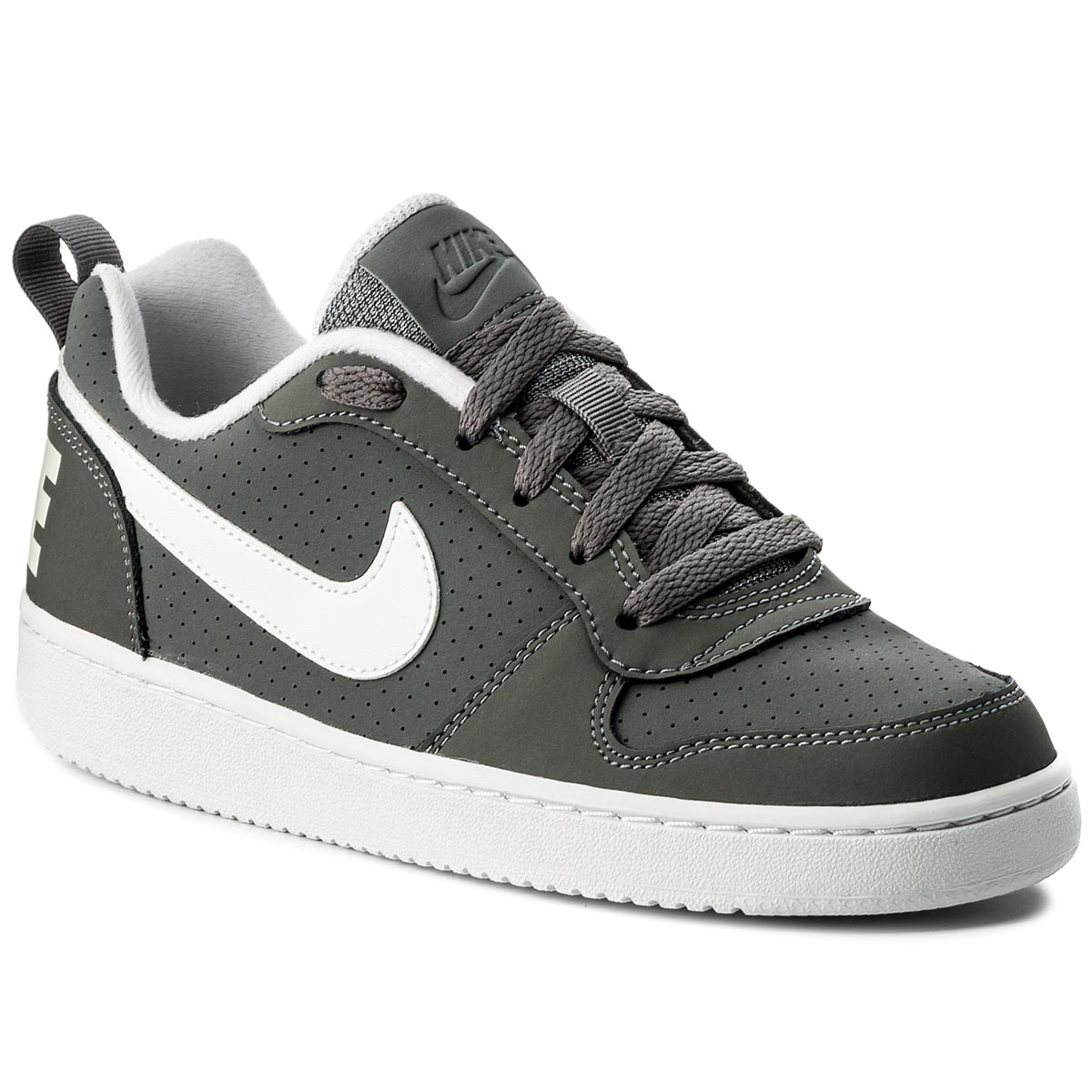 Topánky NIKE - Court Borough Low (GS) 839985 002 Cool Grey/White