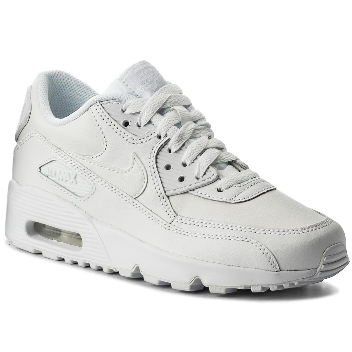 Topánky NIKE - Air Max 90 Ltr (GS) 833412 100 White/White