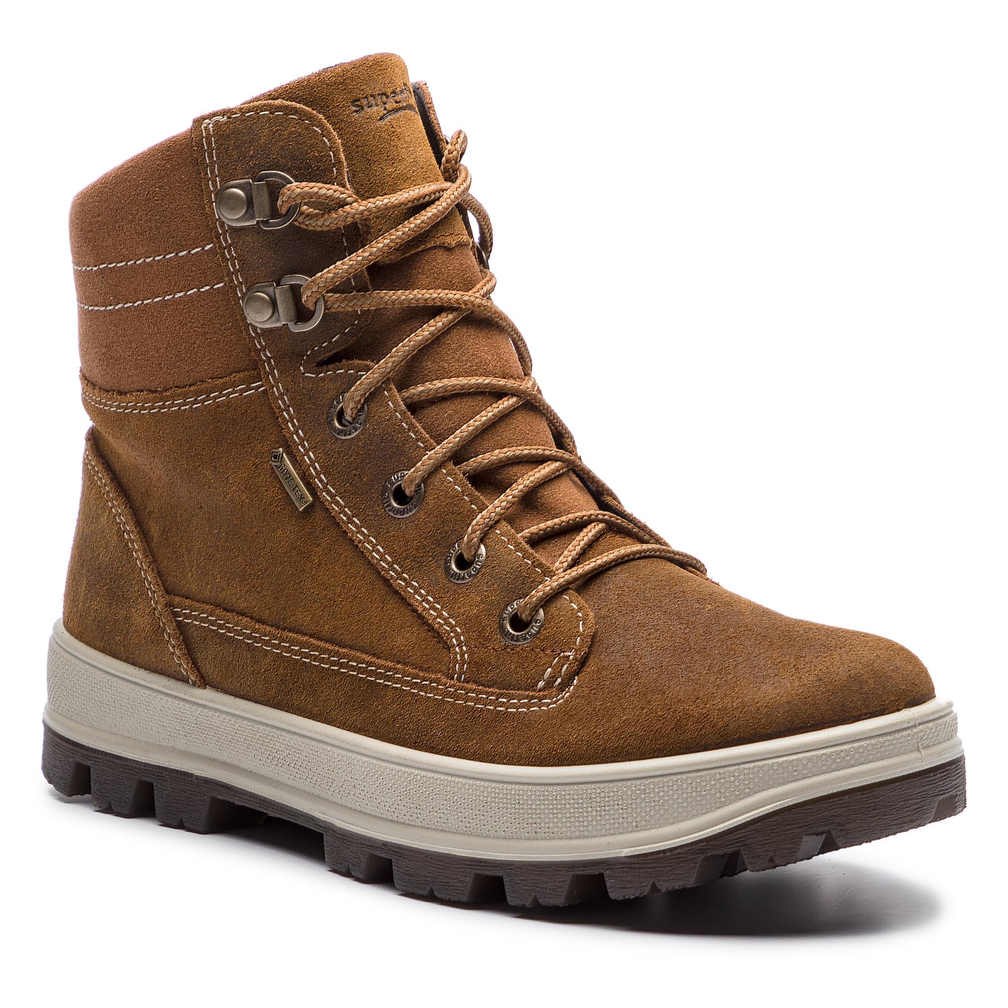 Outdoorová obuv SUPERFIT - GORE-TEX 8-00473-30 D Braun