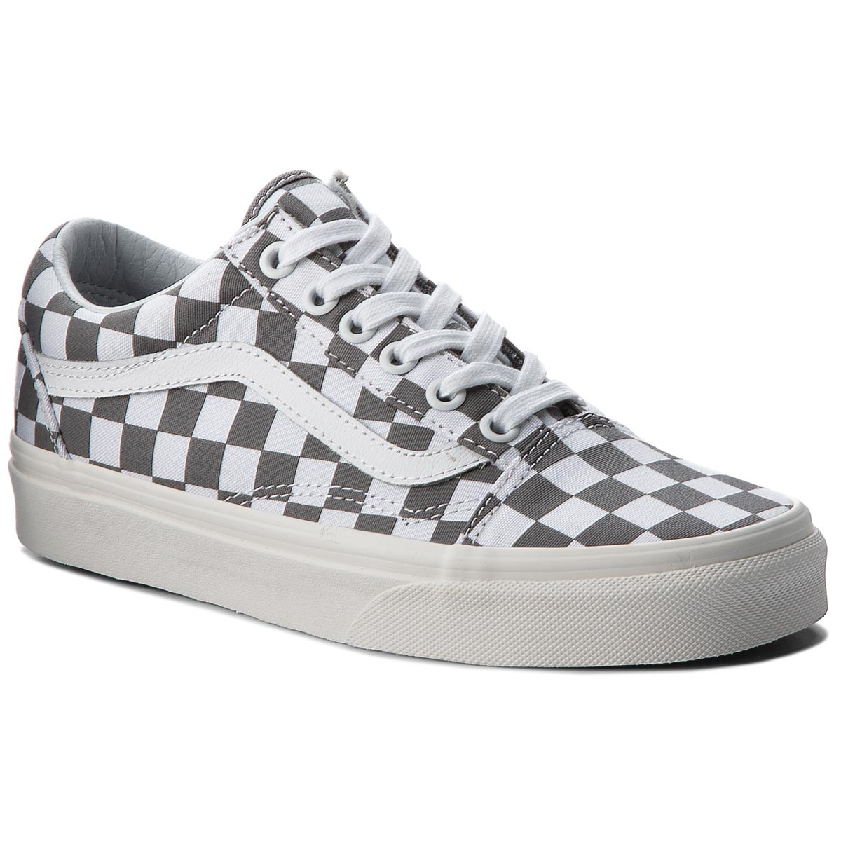 Tenisky VANS - Old Skool VN0A38G1U53 (Checkerboard) Pewter/Marshmallow