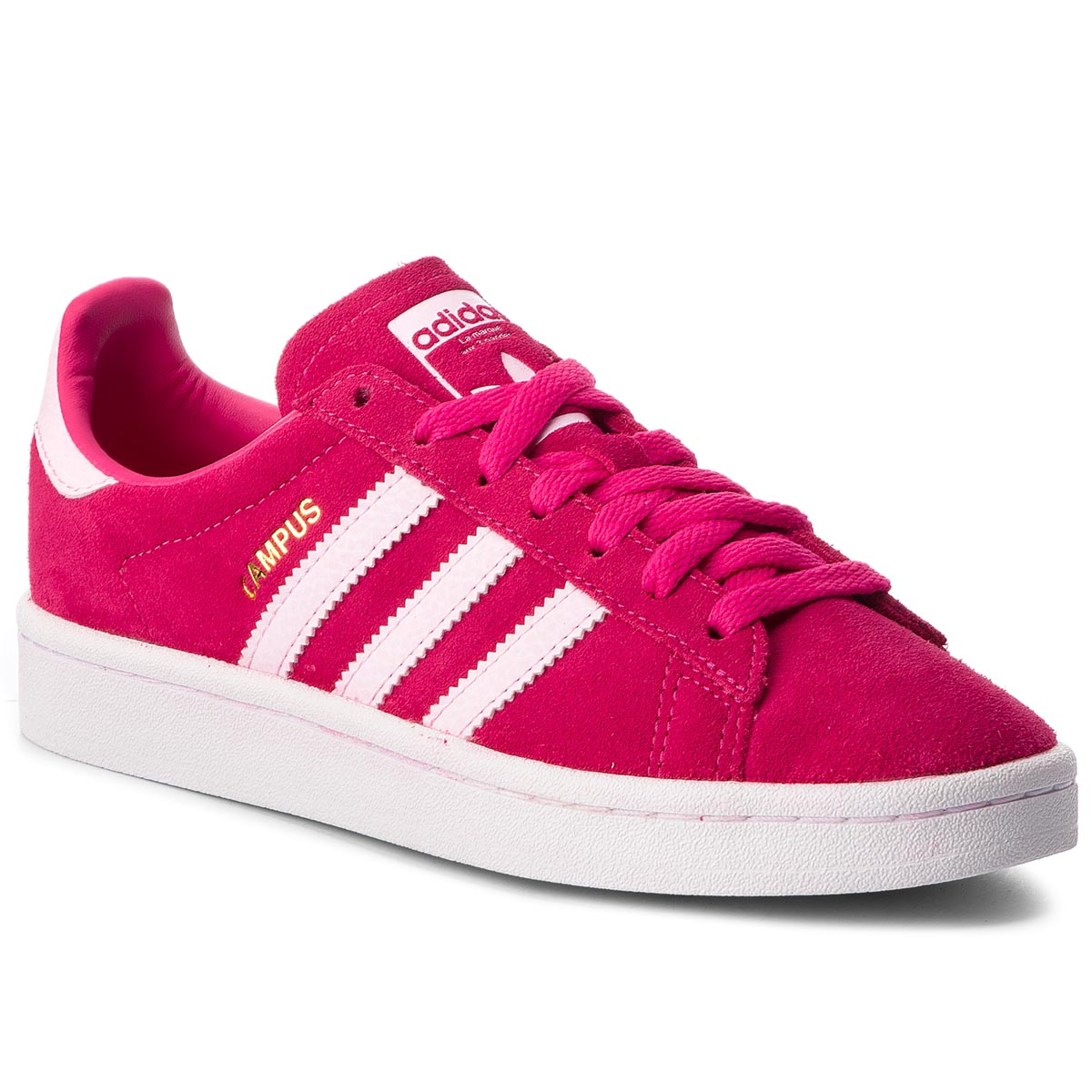 Topánky adidas - Campus J B41948 Remag/Clpink/Clpink