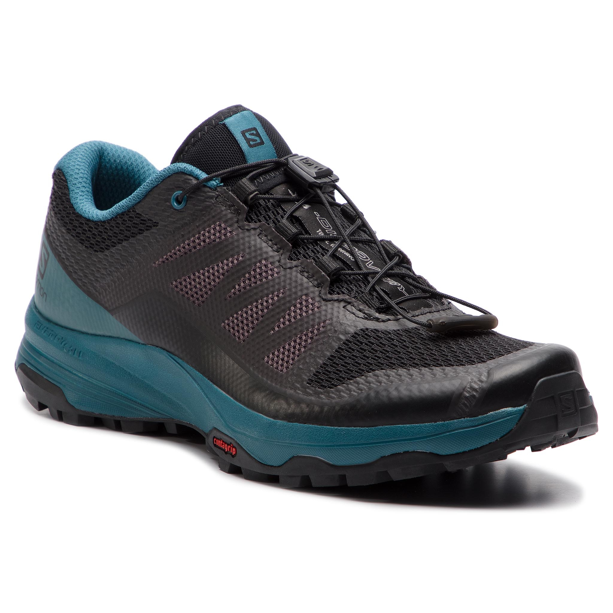 Topánky SALOMON - Xa Discovery 406619 27 W0 Black/Mallard Blue/Ebony