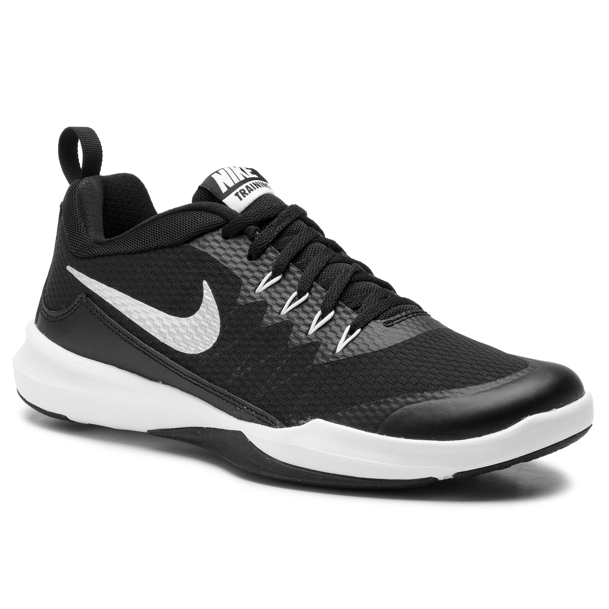 Topánky NIKE - Legend Trainer 924206 001 Black/Metallic Silver/White