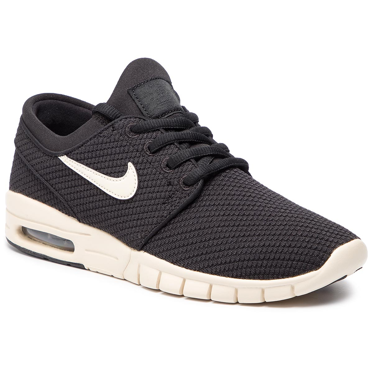 Topánky NIKE - Stefan Janoski Max 631303 032 Black/Light Cream/Light Cream