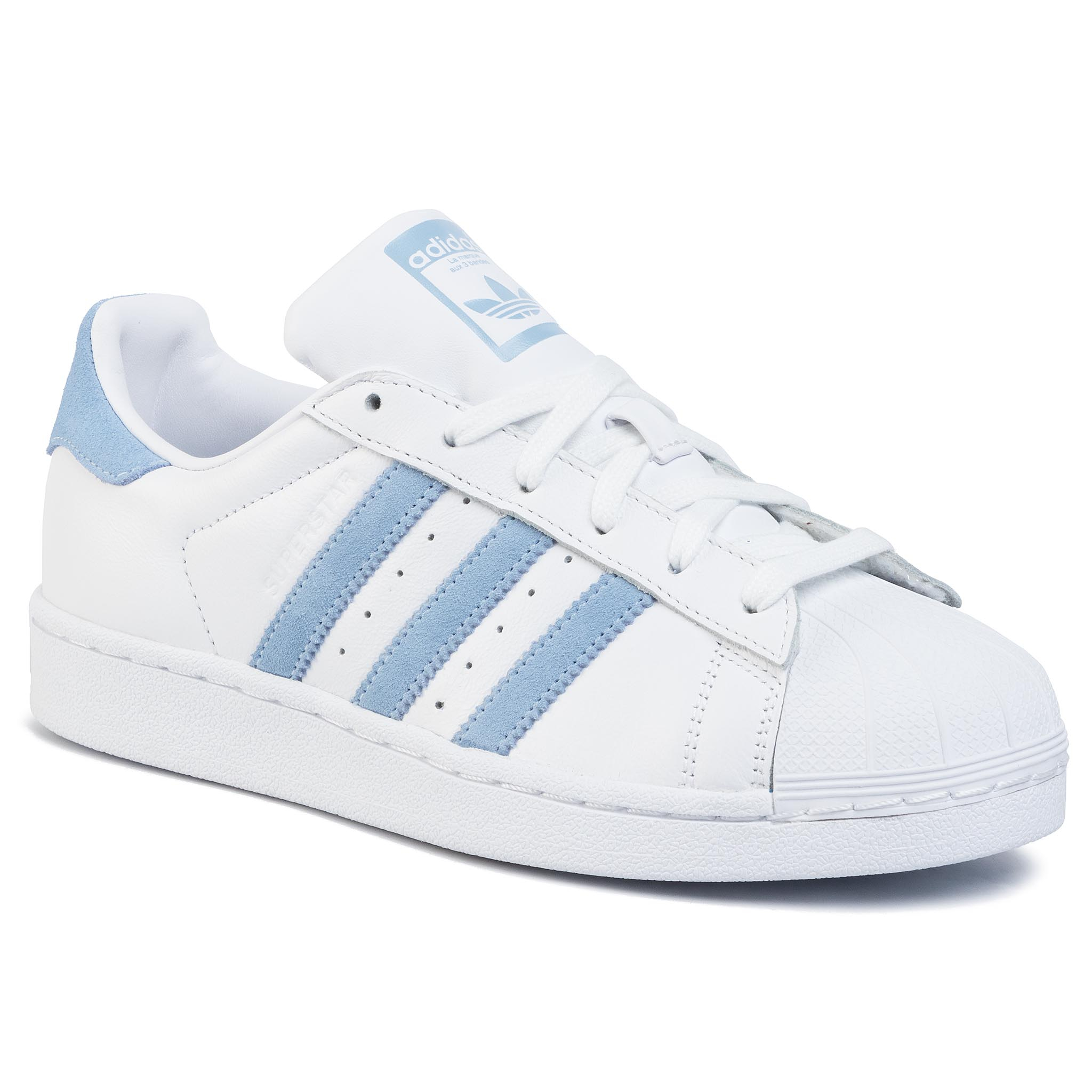 Topánky adidas - Superstar EF9239 Ftwwht/Globlu/Ftwwht