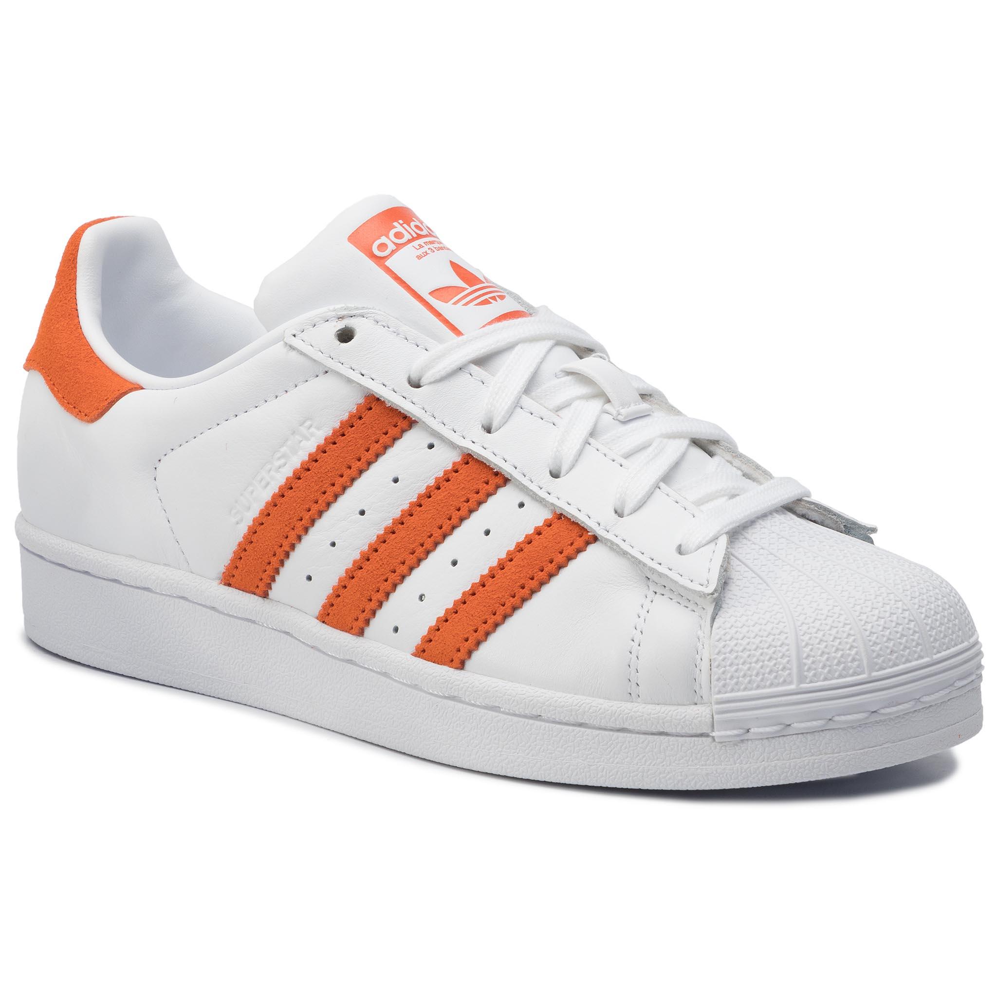 Topánky adidas - Superstar EE4472 Ftwwht/Orange/Ftwwht
