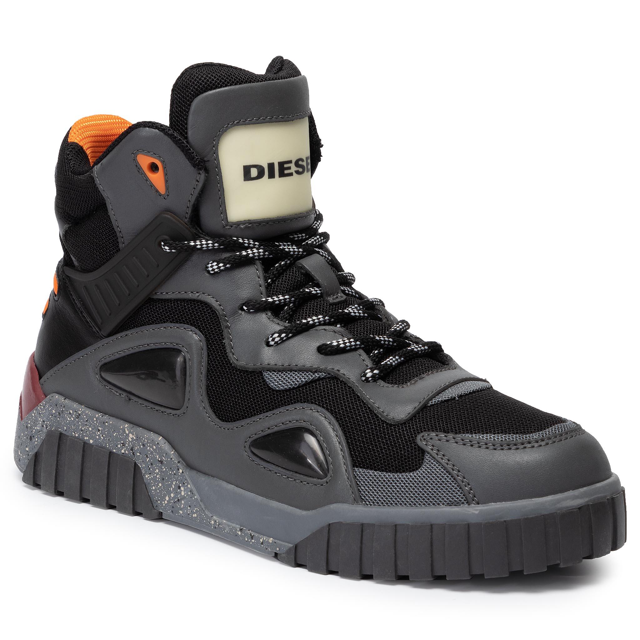 Sneakersy DIESEL - S-Rua Sp Y02009 P2564 H7603 Black/Peacoat Blue