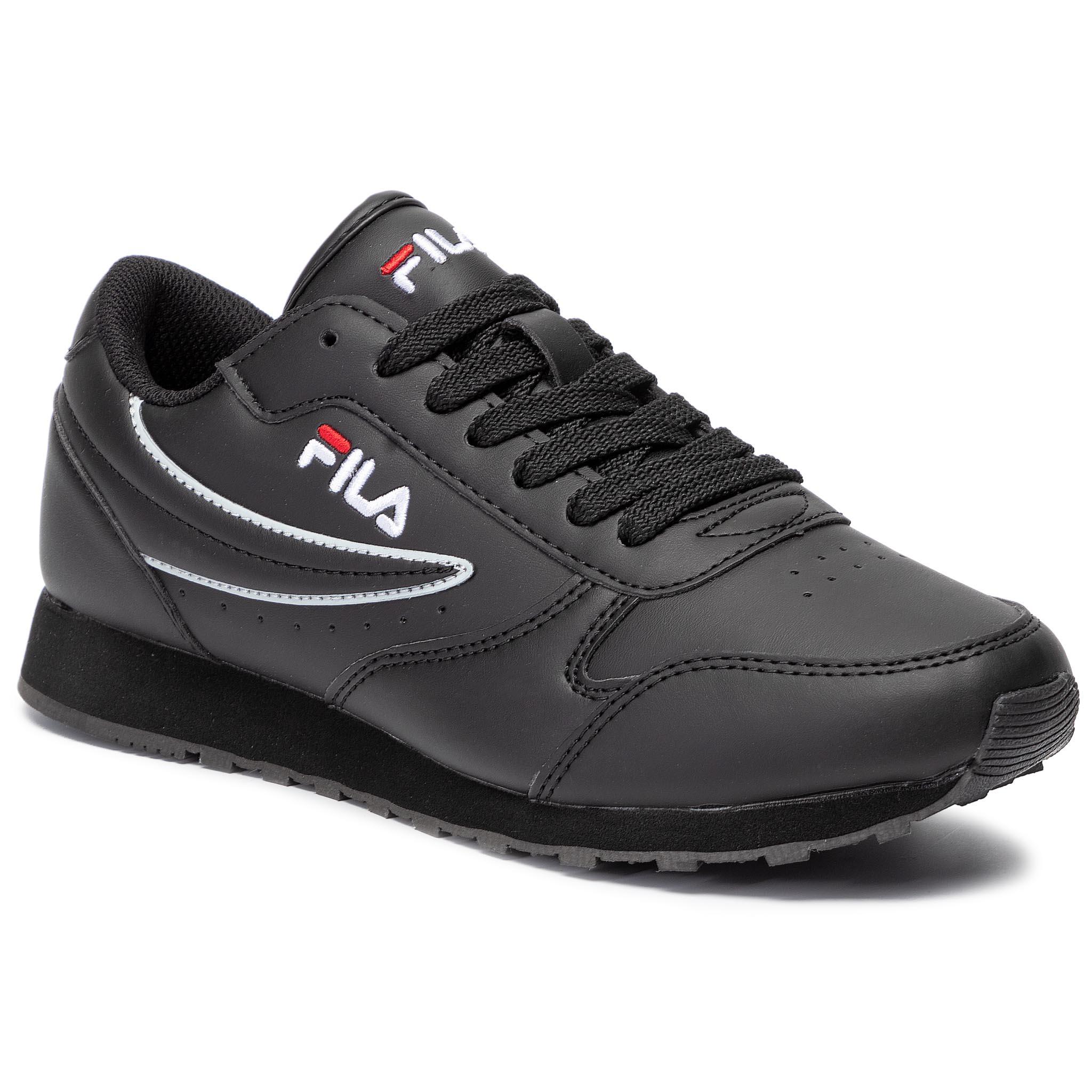 Sneakersy FILA - Orbit Low 1010263.12V Black/Black
