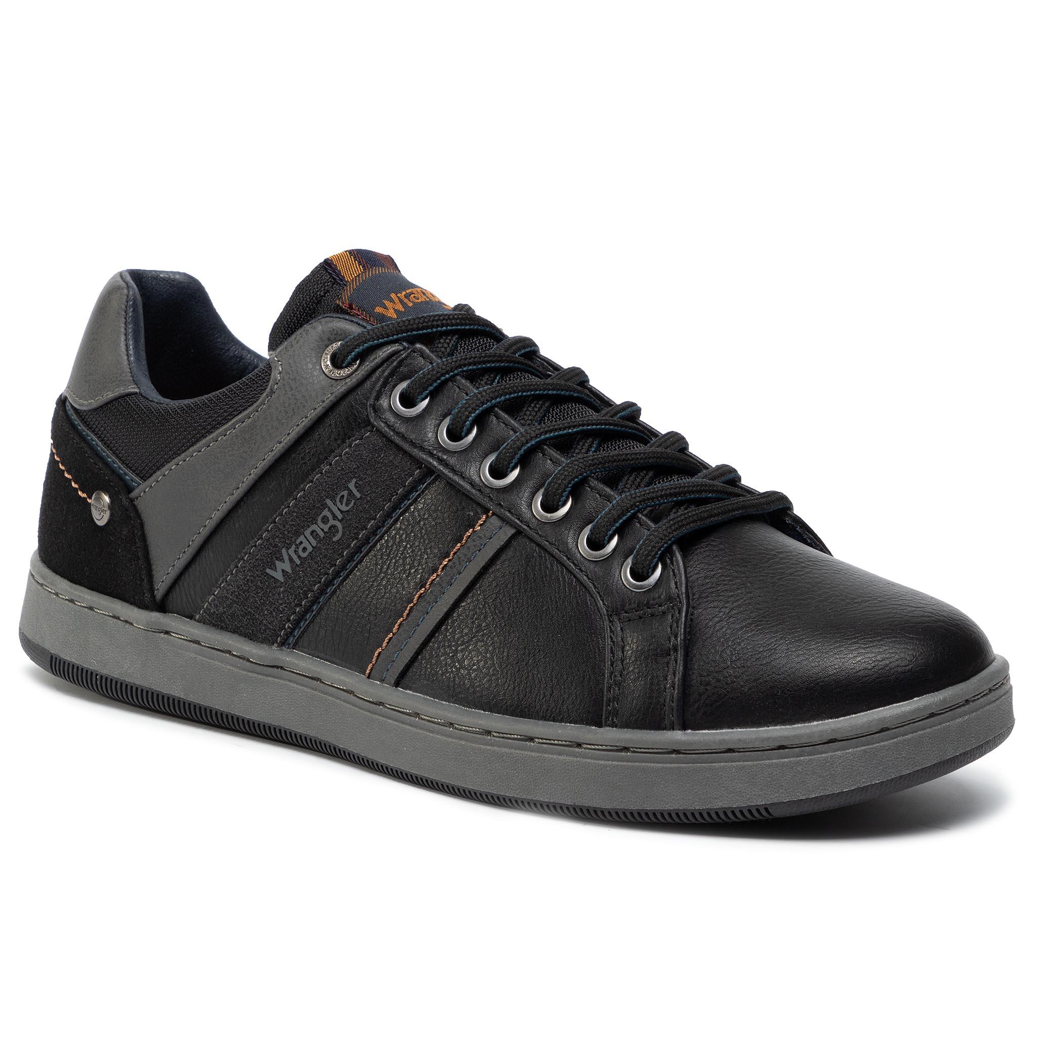 Sneakersy WRANGLER - Marshall Paso WM92120A Black 062