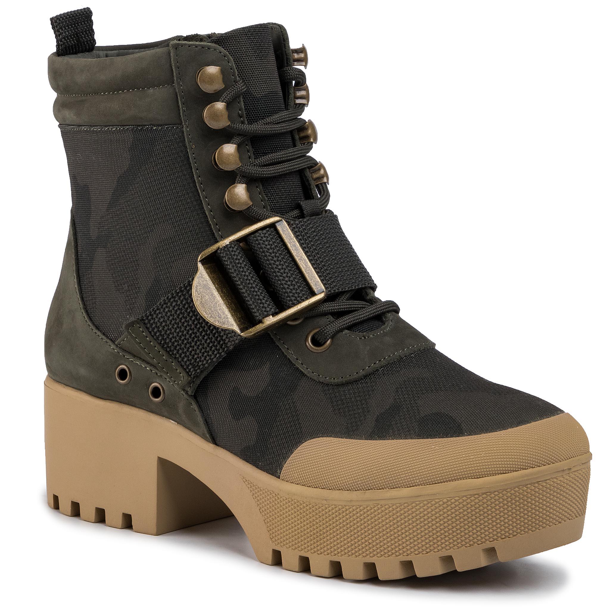 Členková obuv STEVE MADDEN - Grady SM11000777-04005-232 Camo Multi