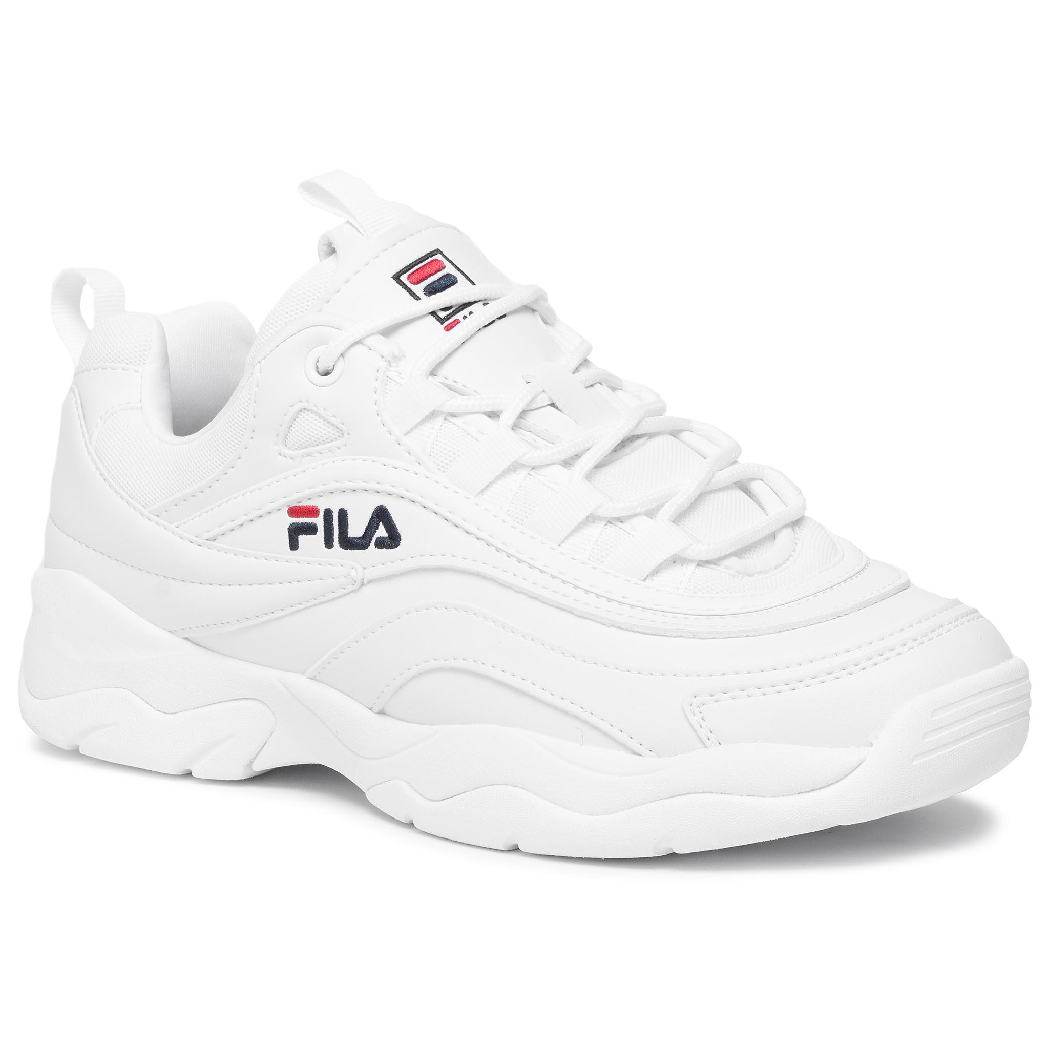 Sneakersy FILA - Ray Low 1010561.1FG White
