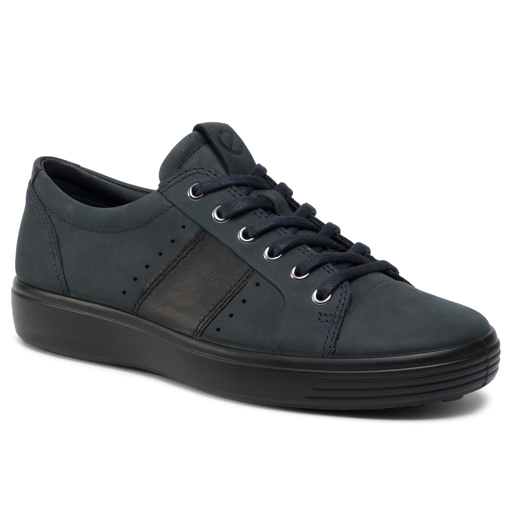 Sneakersy ECCO - Soft 7 M 44033450545 Marine/Black