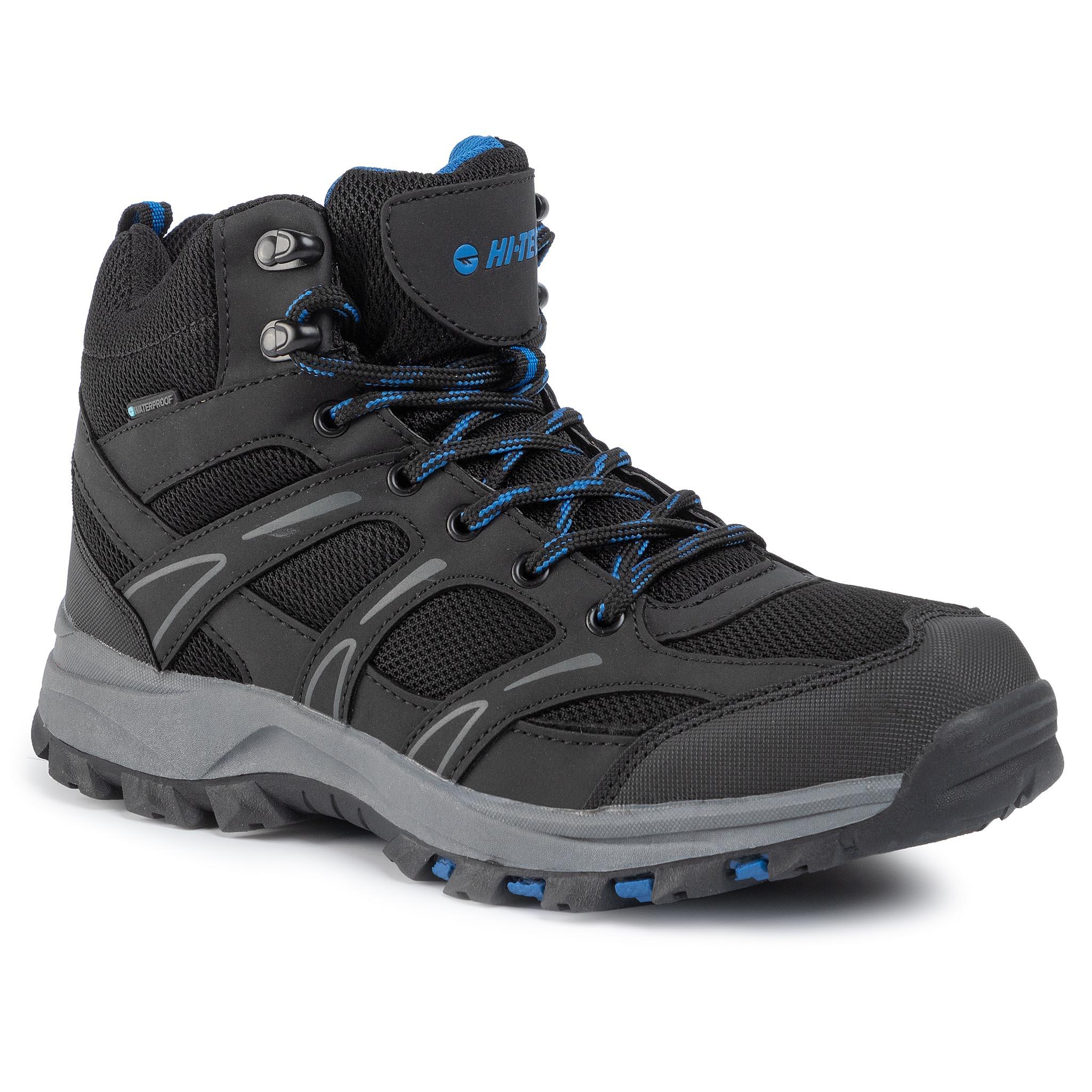 Trekingová obuv HI-TEC - Casian Mid Wp AVSAW19-HT-01-Q3 Black/Classic Blue