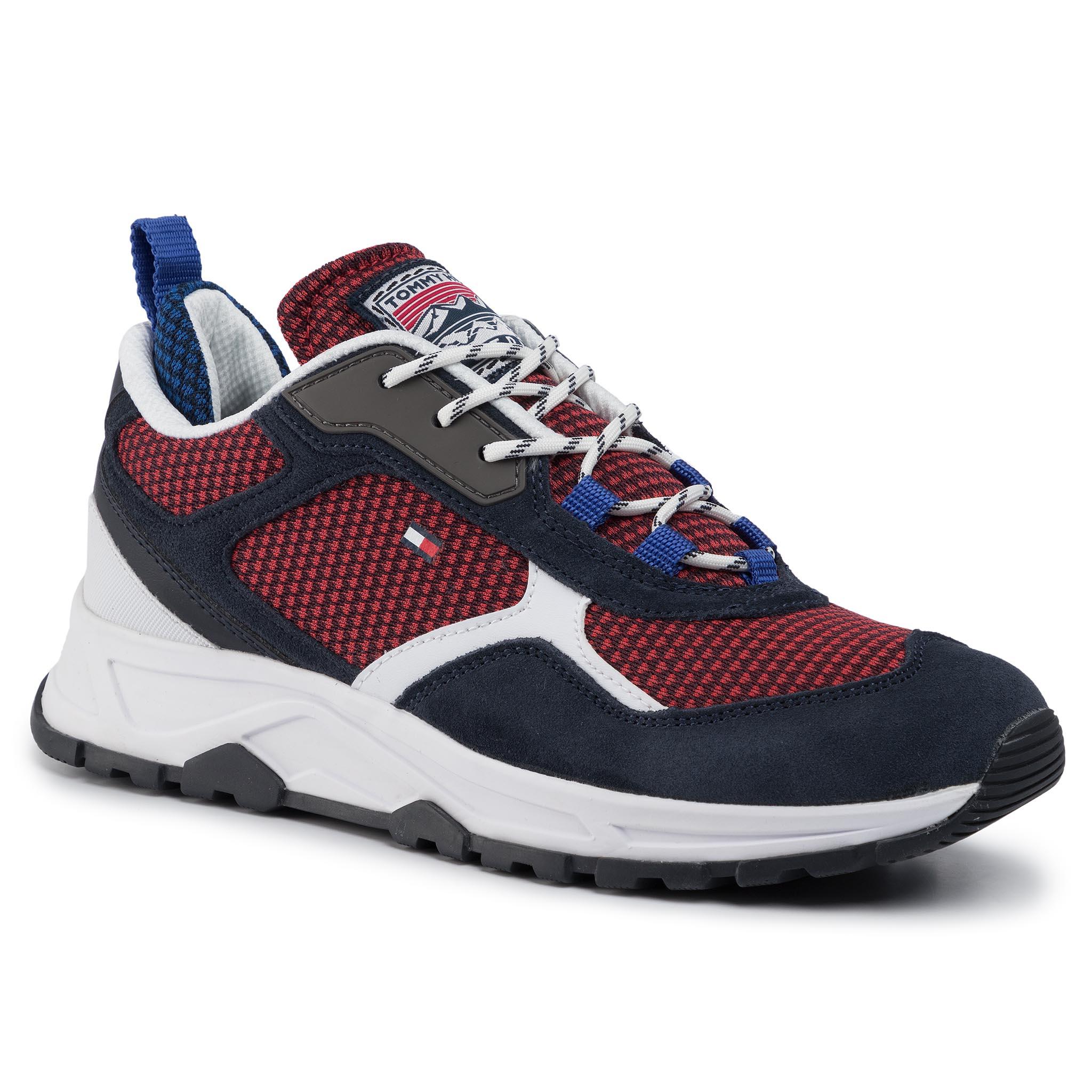 Sneakersy TOMMY HILFIGER - Fashion Mix Sneaker FM0FM02582 Desert Sky DW5