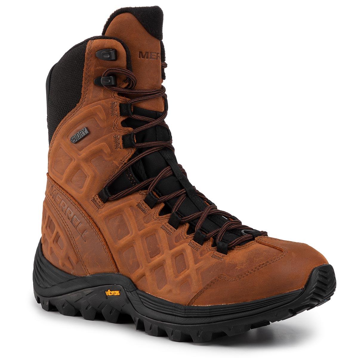 Trekingová obuv MERRELL - Thermo Rogue 8 Ltr Wp Ice J33621 Merrell Oak