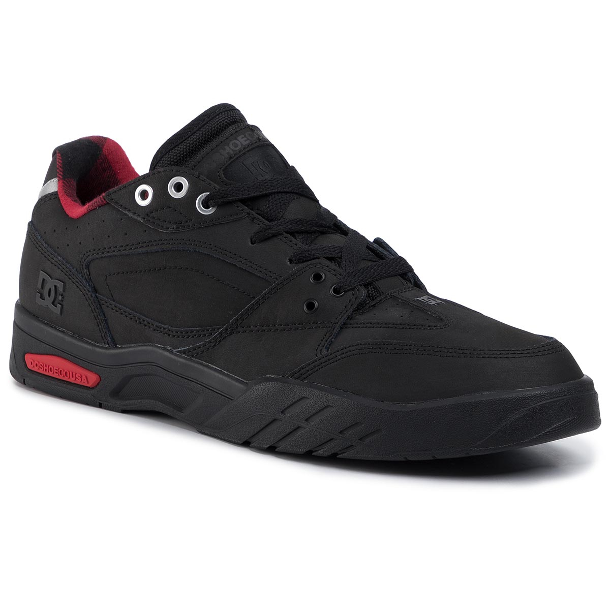 Sneakersy DC - Maswell Wnt ADYS100581 Black/Red (Blr)