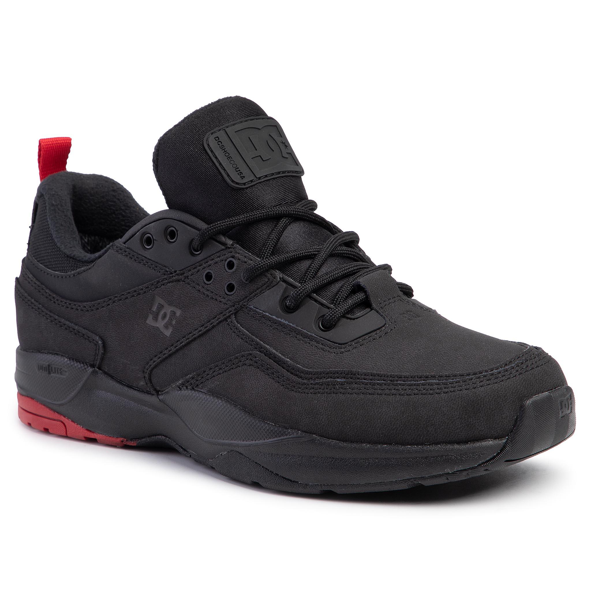 Sneakersy DC - E.Tribeka Wnt ADYS700206 Black/Black/Red (Xkkr)