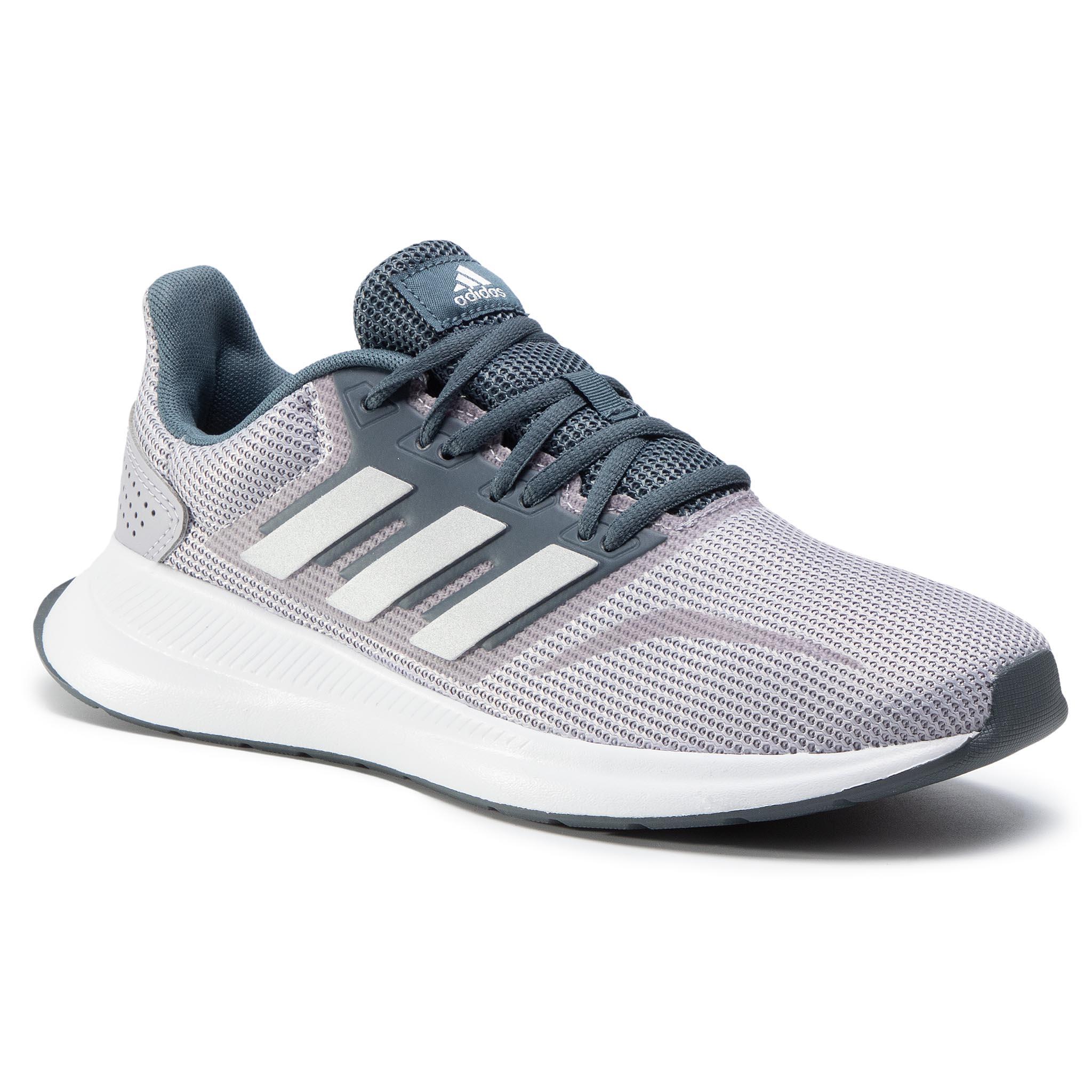 Topánky adidas - Runfalcon FW5058  Grey
