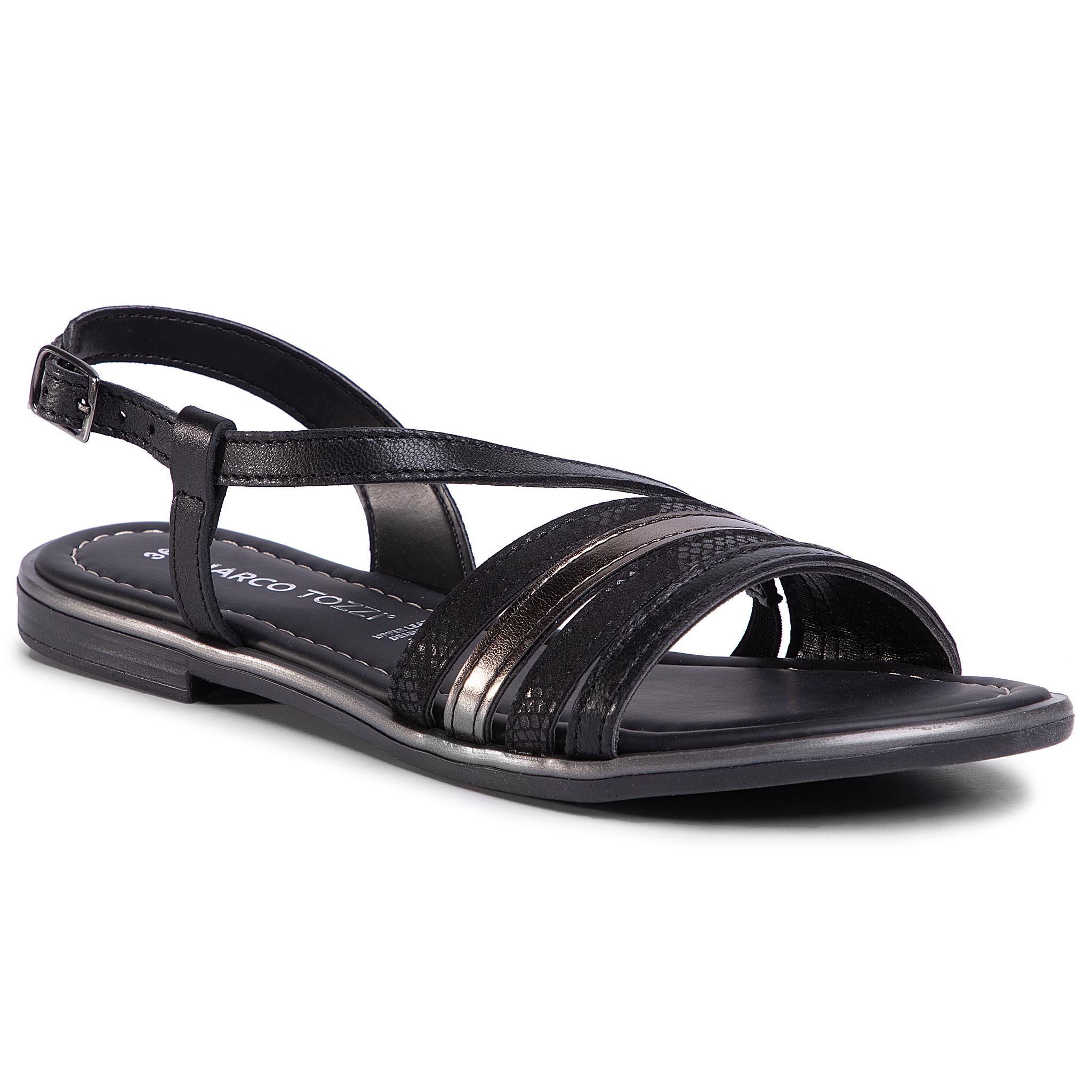 Sandále MARCO TOZZI - 2-28143-24 Black Comb 098