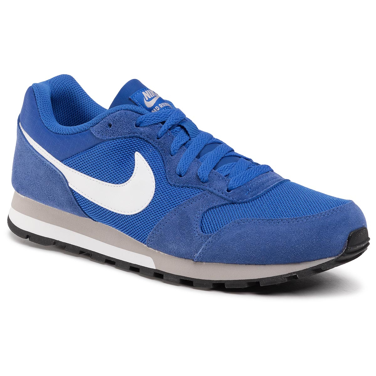 Topánky NIKE - Md Runner 749794 411 Game Royal/White/Wlf Gry/White
