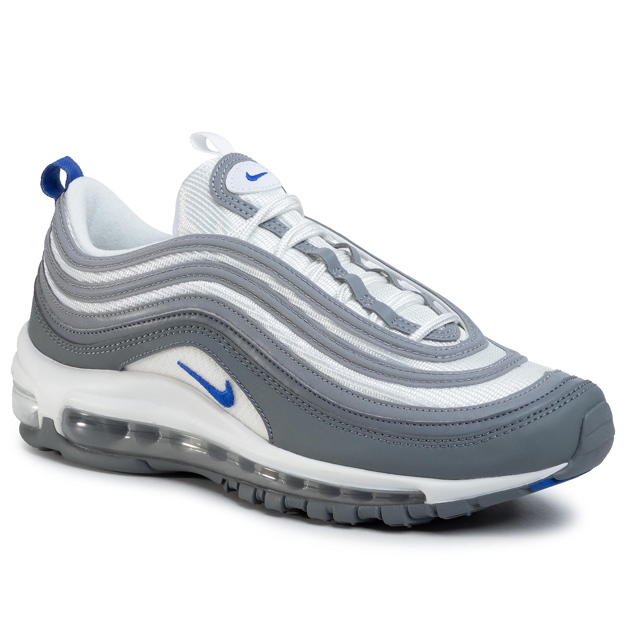 Topánky NIKE - Air Max 97 CK0896 100 White/Hyper Royal/Cool Grey