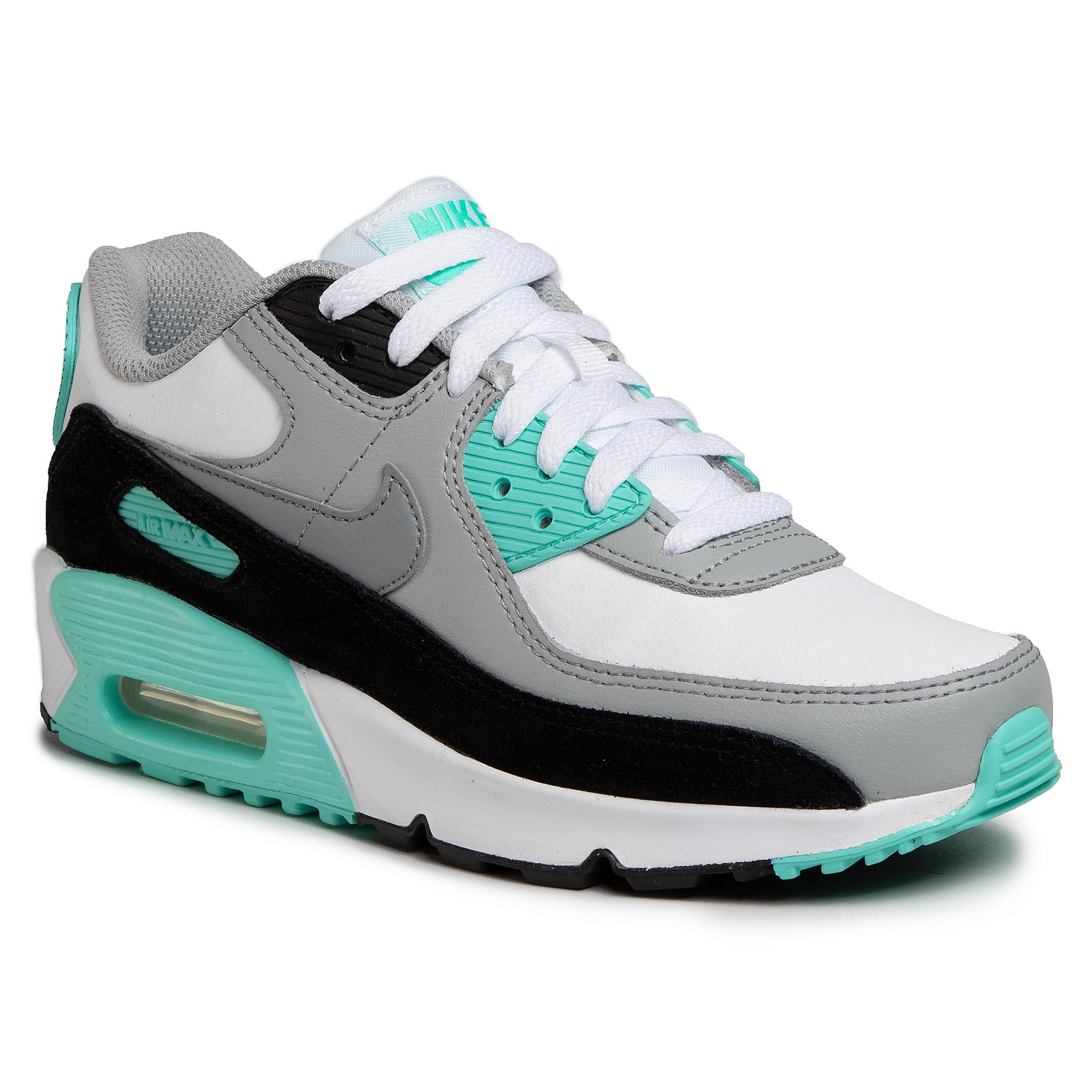 Topánky NIKE - Air Max 90 Ltr (GS) CD6864 102 White/Particle Grey