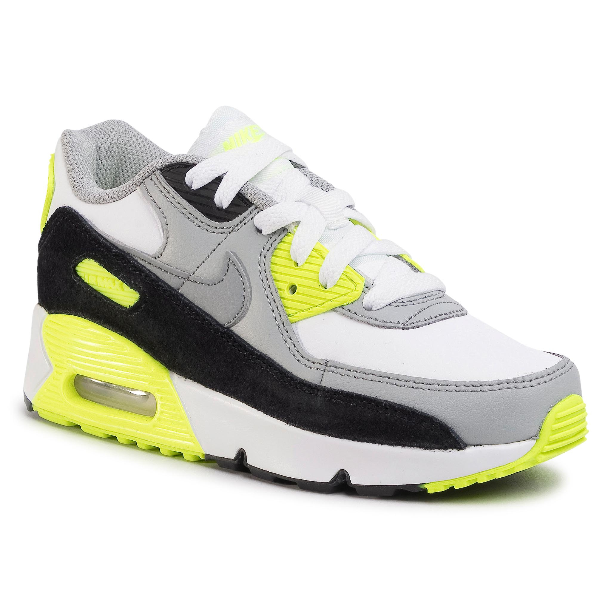 Topánky NIKE - Air Max 90 Ltr (Ps) CD6867 101 White/Particle Grey