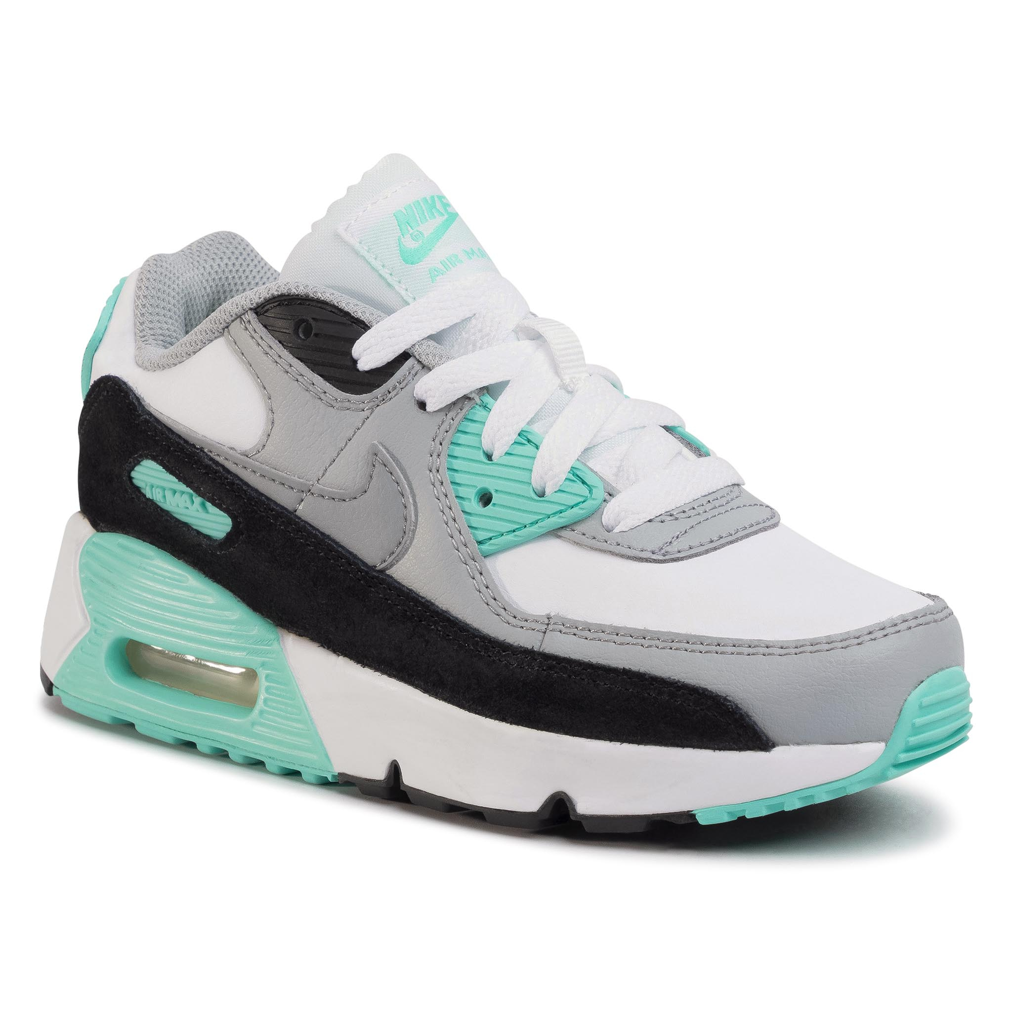 Topánky NIKE - Air Max 90 Ltr (Ps) CD6867 102 White/Particle Grey