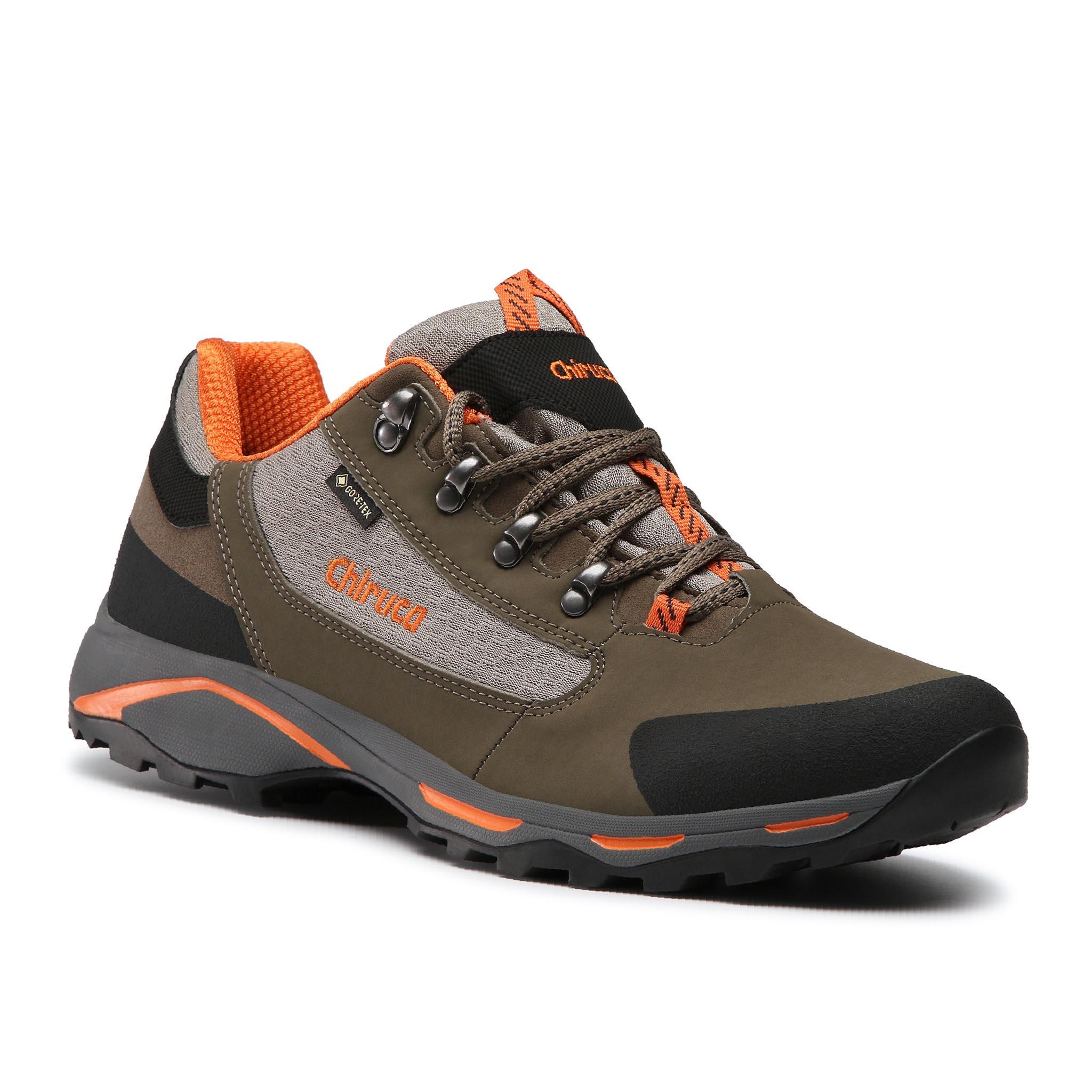 Trekingová obuv CHIRUCA - Santiago 08 GORE-TEX 4489308 Marron/Naranja