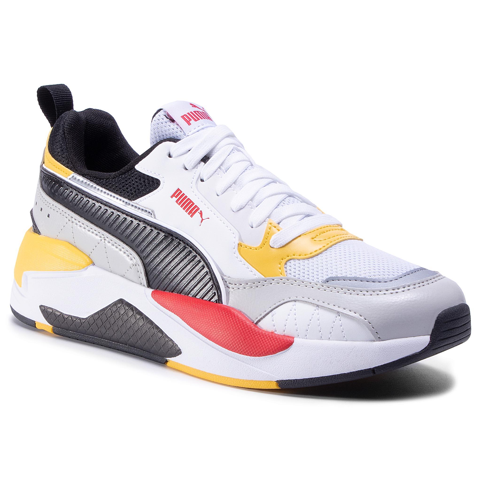 Sneakersy PUMA - X-Ray 2 Square 373108 10 White/Red/Super Lemon