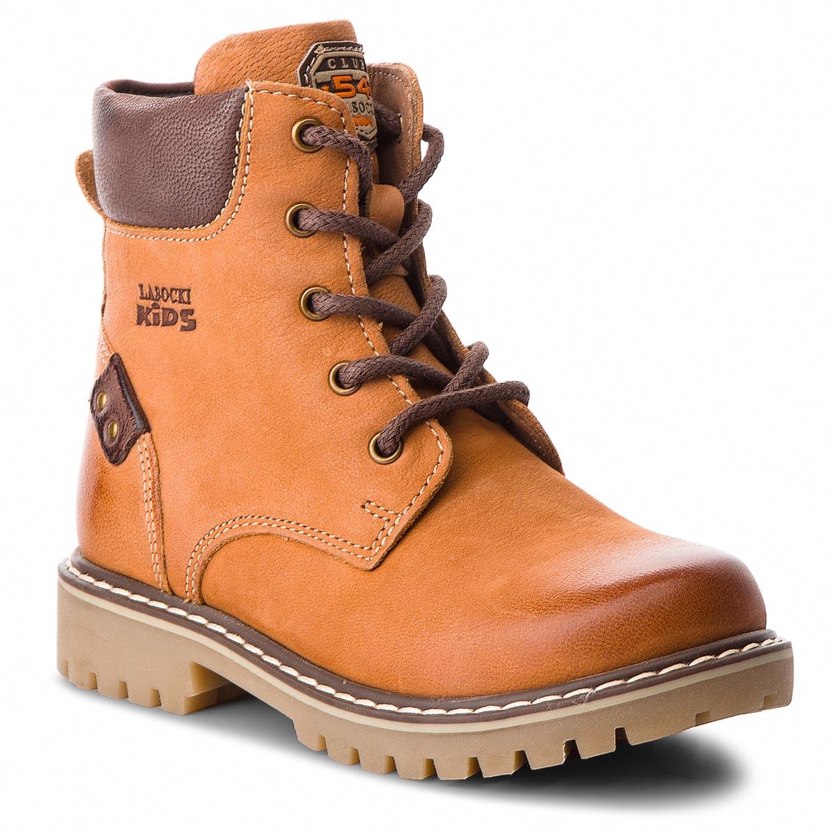 Outdoorová obuv LASOCKI KIDS - CI12-ASPEN-16A Beżowy Ciemny