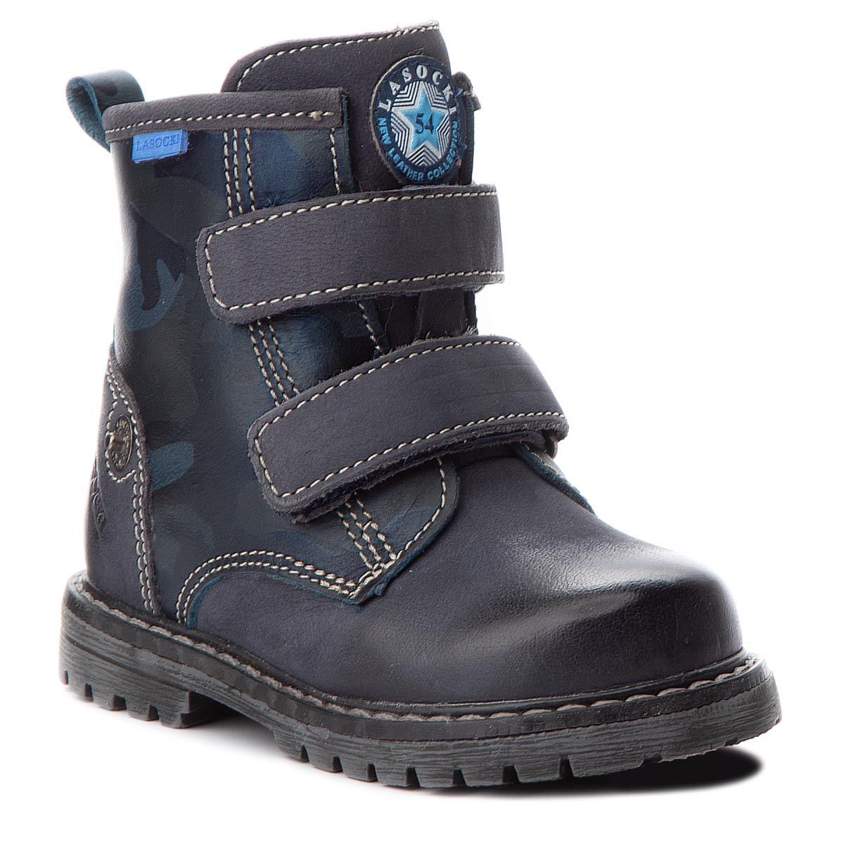 Outdoorová obuv LASOCKI KIDS - CI12-BROKER-03 Tmavo modrá