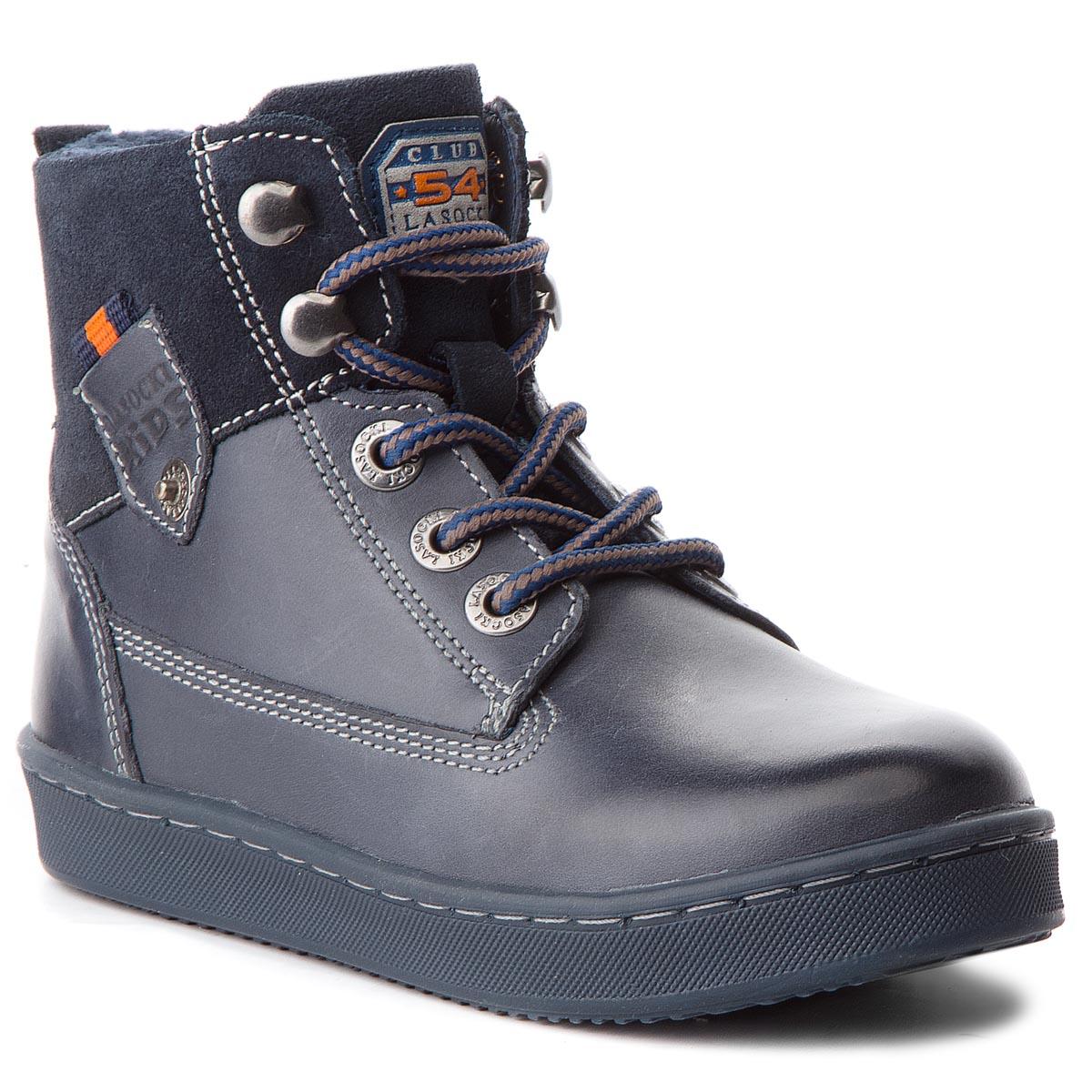 Outdoorová obuv LASOCKI KIDS - CI12-ERYK-01 Tmavo modrá