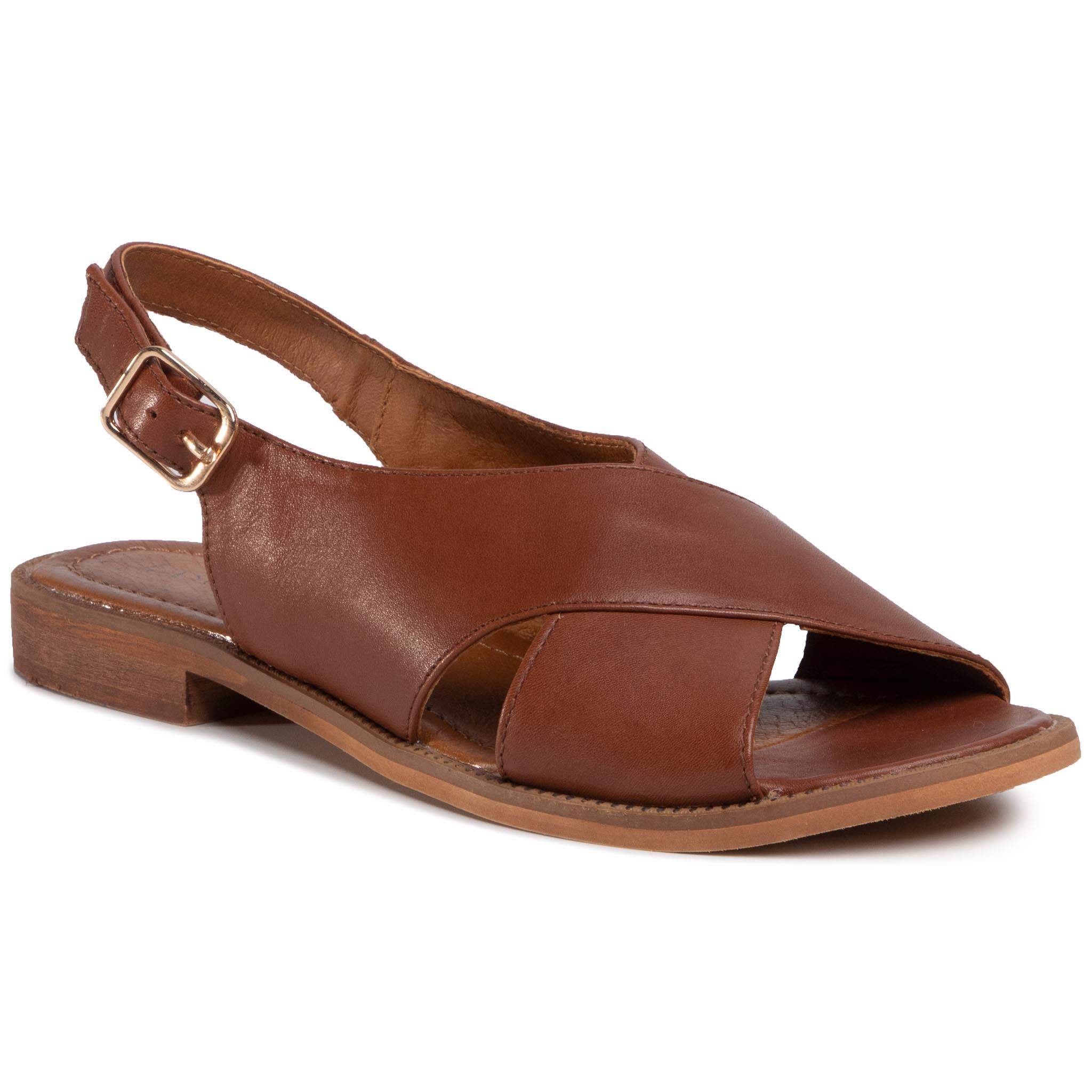 Sandále LASOCKI - TTT-M002-01 Brown