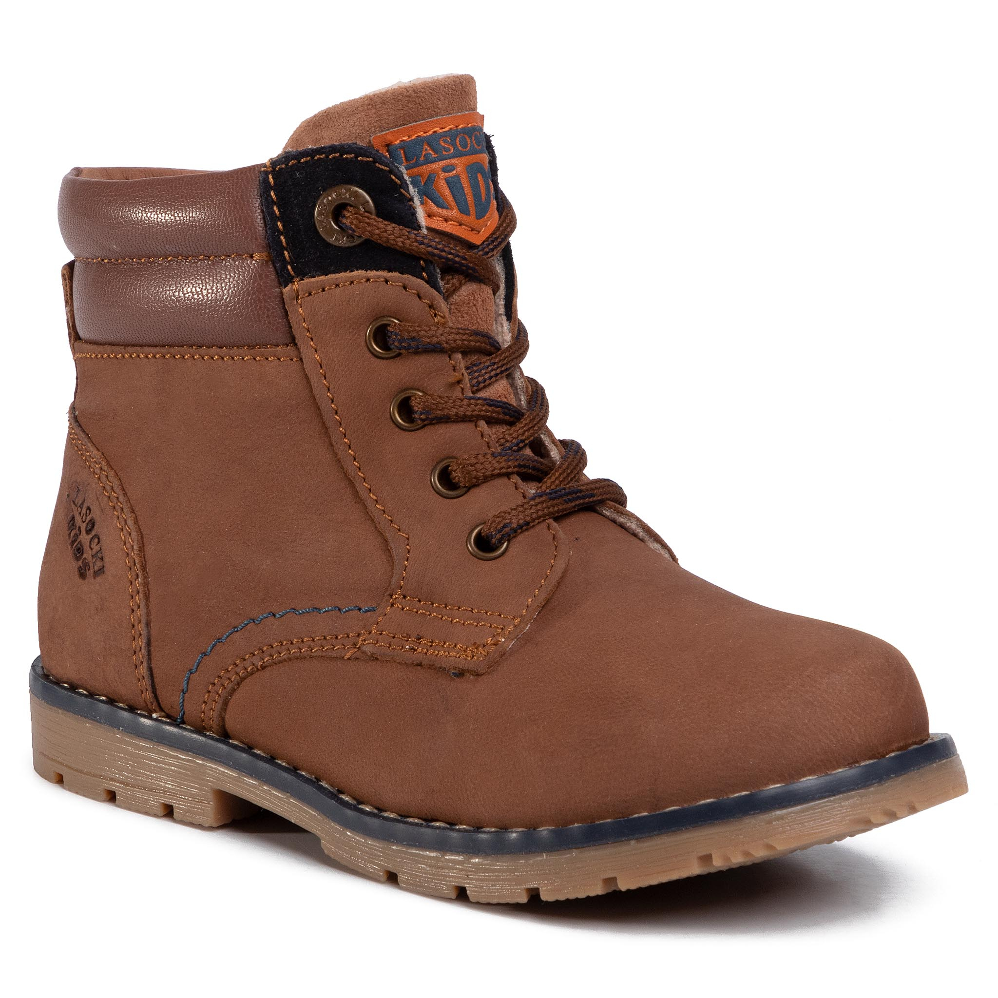 Outdoorová obuv LASOCKI KIDS - CI12-KEEKY-04 Brown