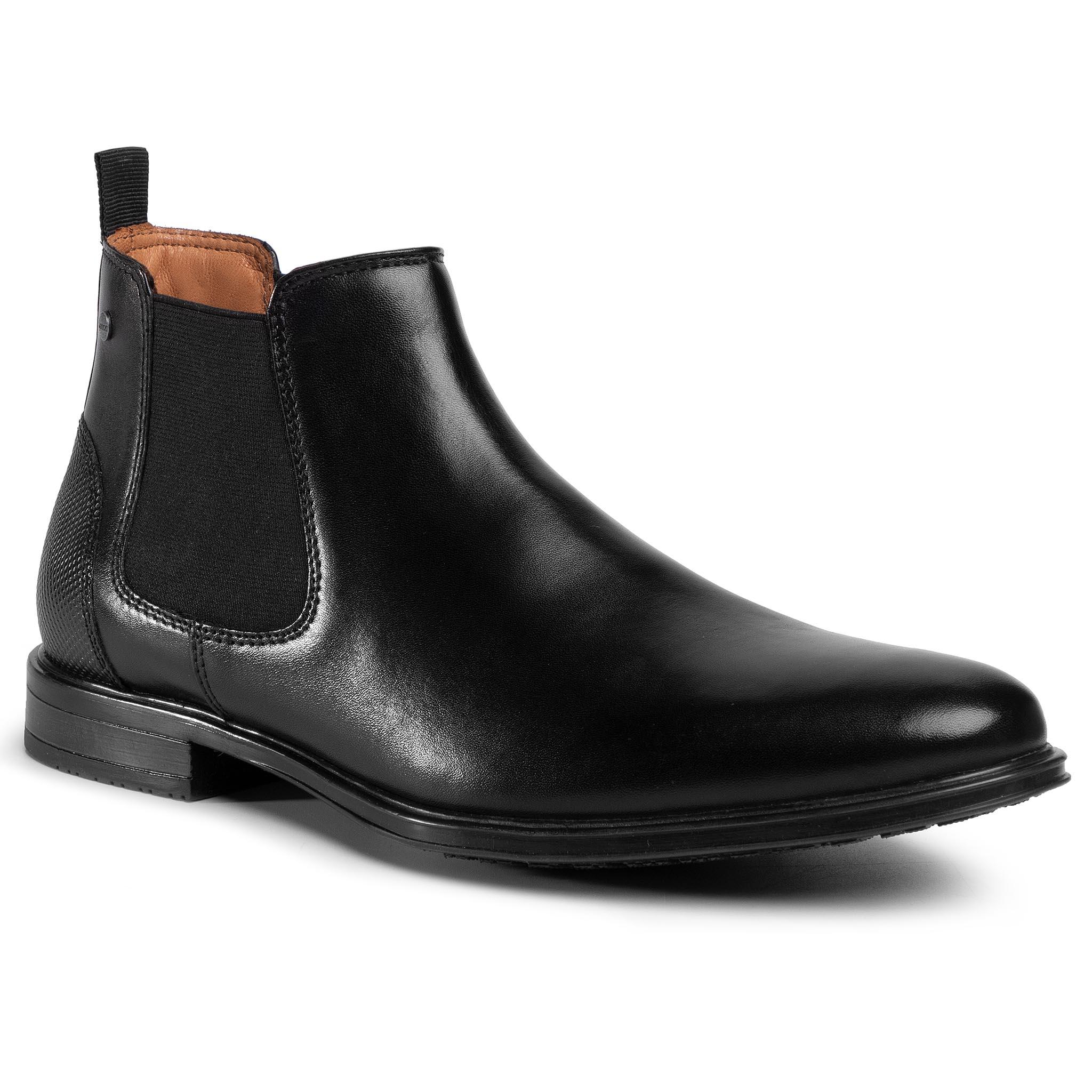 Kotníková obuv s elastickým prvkom LASOCKI FOR MEN - MB-DYLAN-01 Black