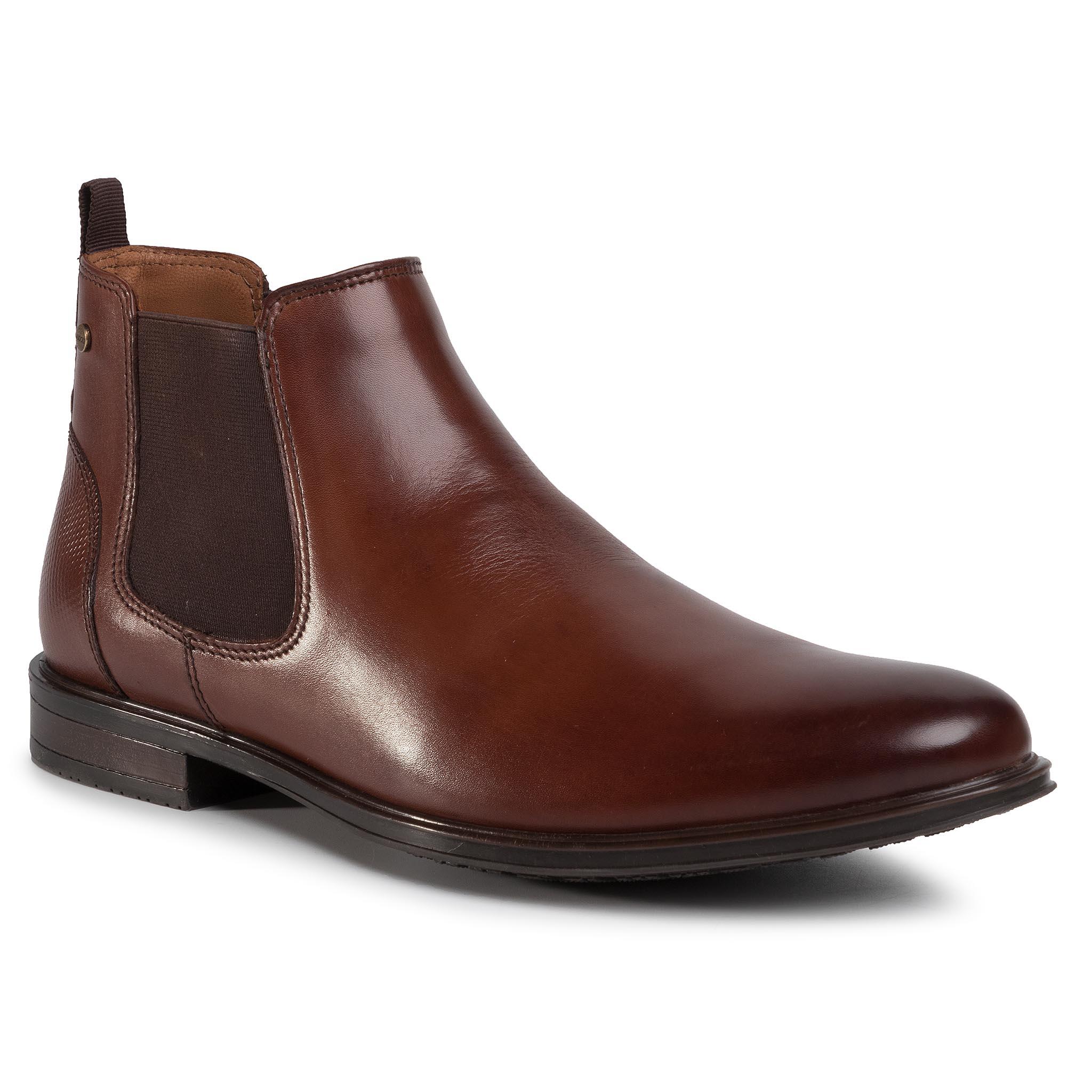 Kotníková obuv s elastickým prvkom LASOCKI - MB-DYLAN-01 Brown