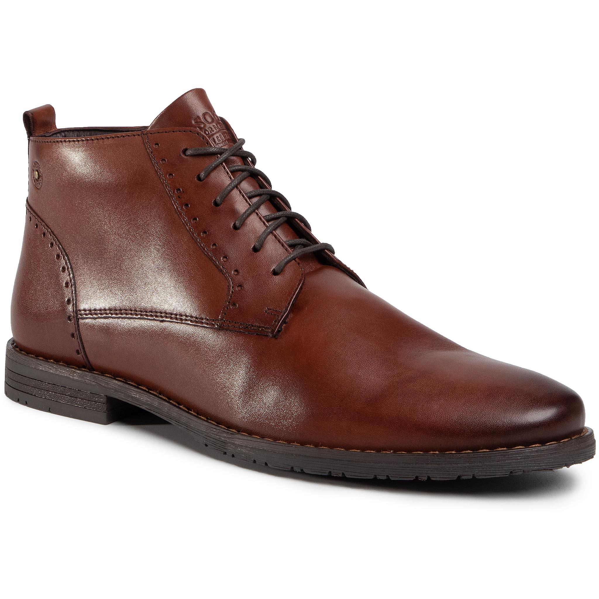Outdoorová obuv LASOCKI FOR MEN - MB-STEVEN-06 Brown