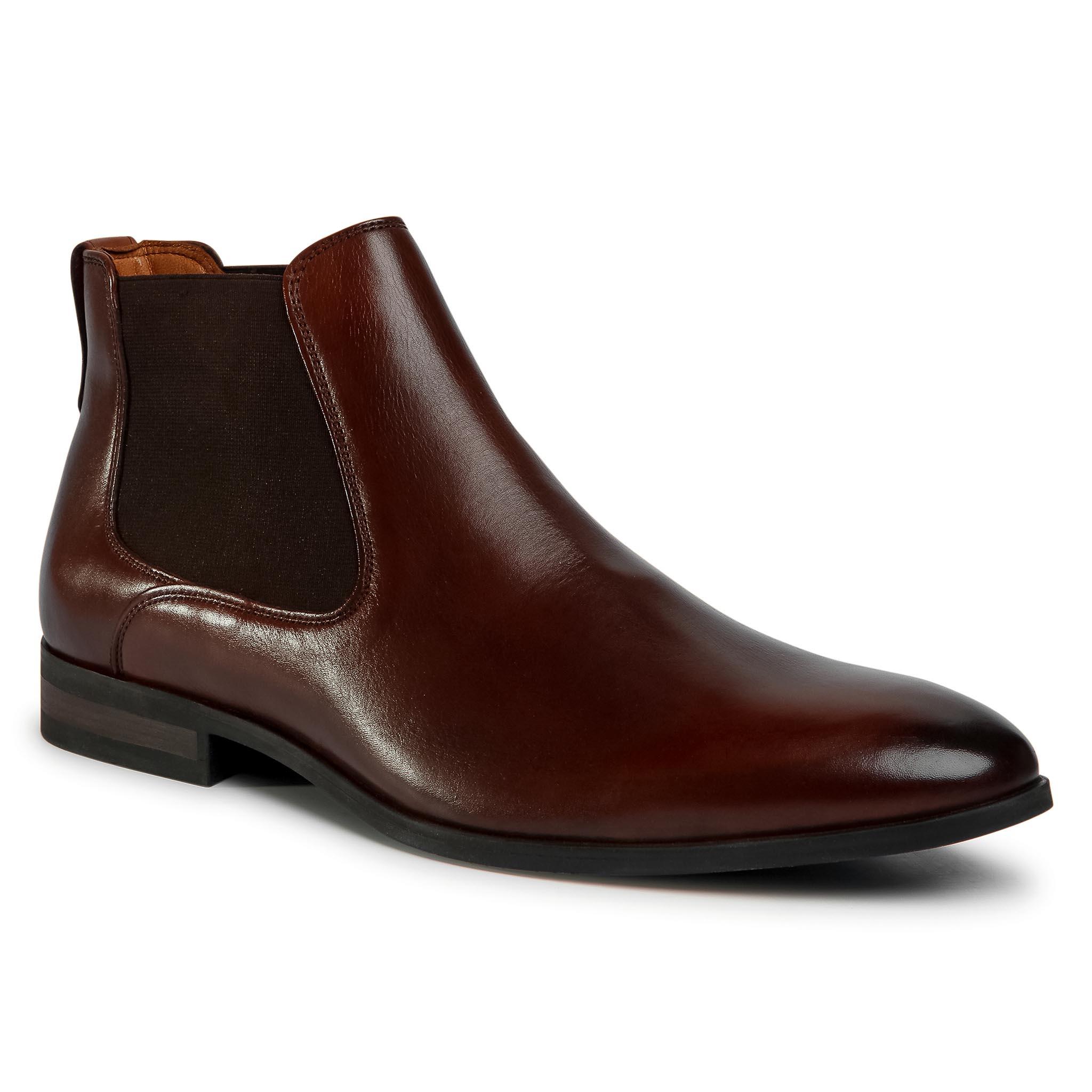 Kotníková obuv s elastickým prvkom LASOCKI FOR MEN - MI08-C736-743-09 Brown