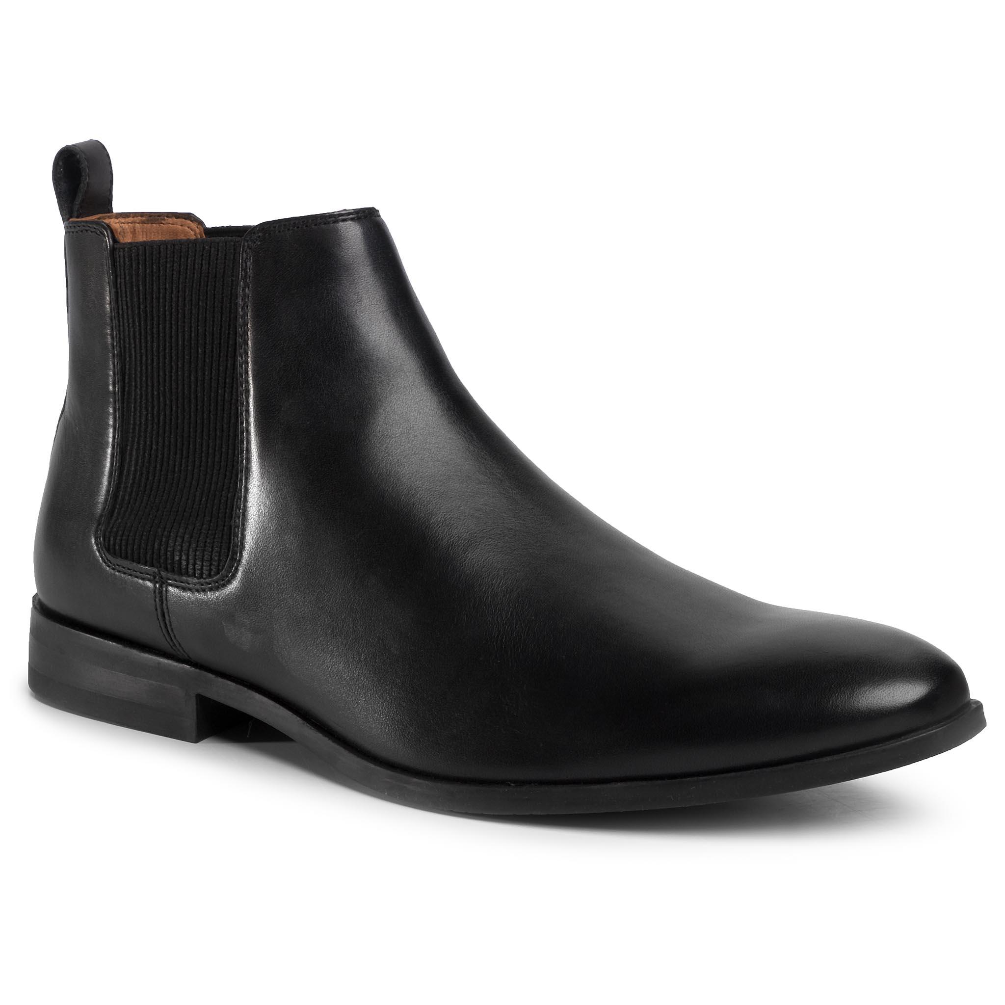 Kotníková obuv s elastickým prvkom LASOCKI FOR MEN - MI08-C736-743-08 Black