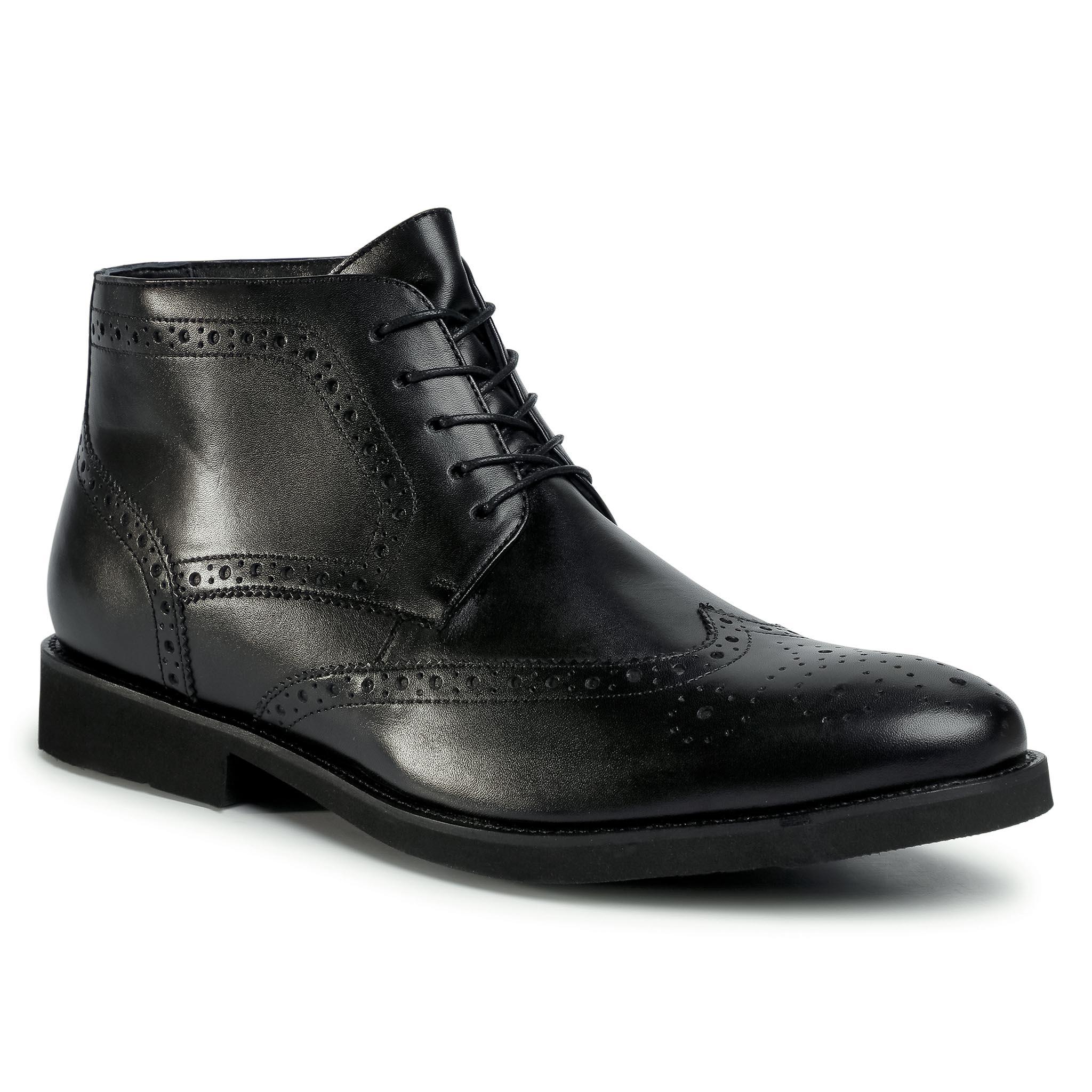 Outdoorová obuv LASOCKI FOR MEN - MI08-C774-706-05 Black