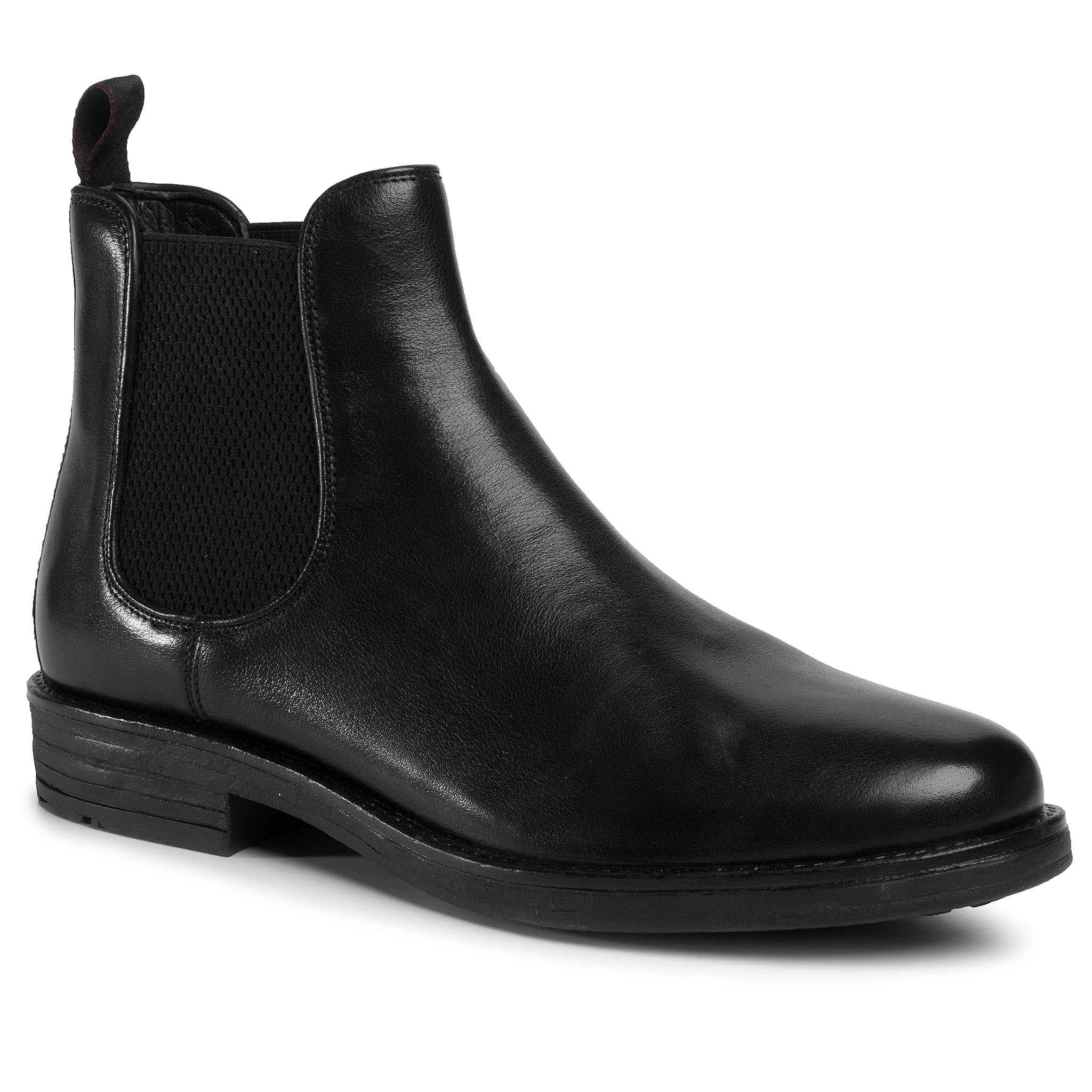 Kotníková obuv s elastickým prvkom LASOCKI FOR MEN - MI08-C608-586-16 Black