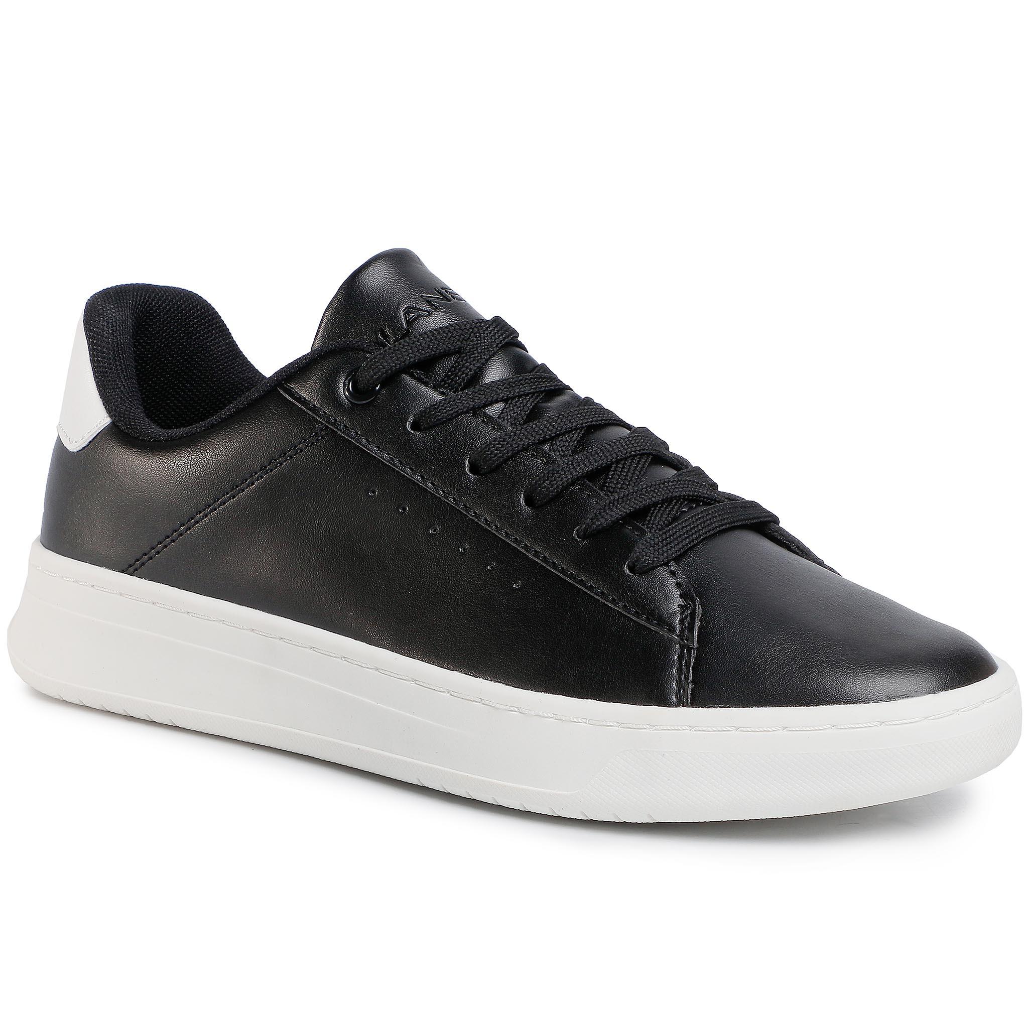Sneakersy LANETTI - S20C749A-1 Black