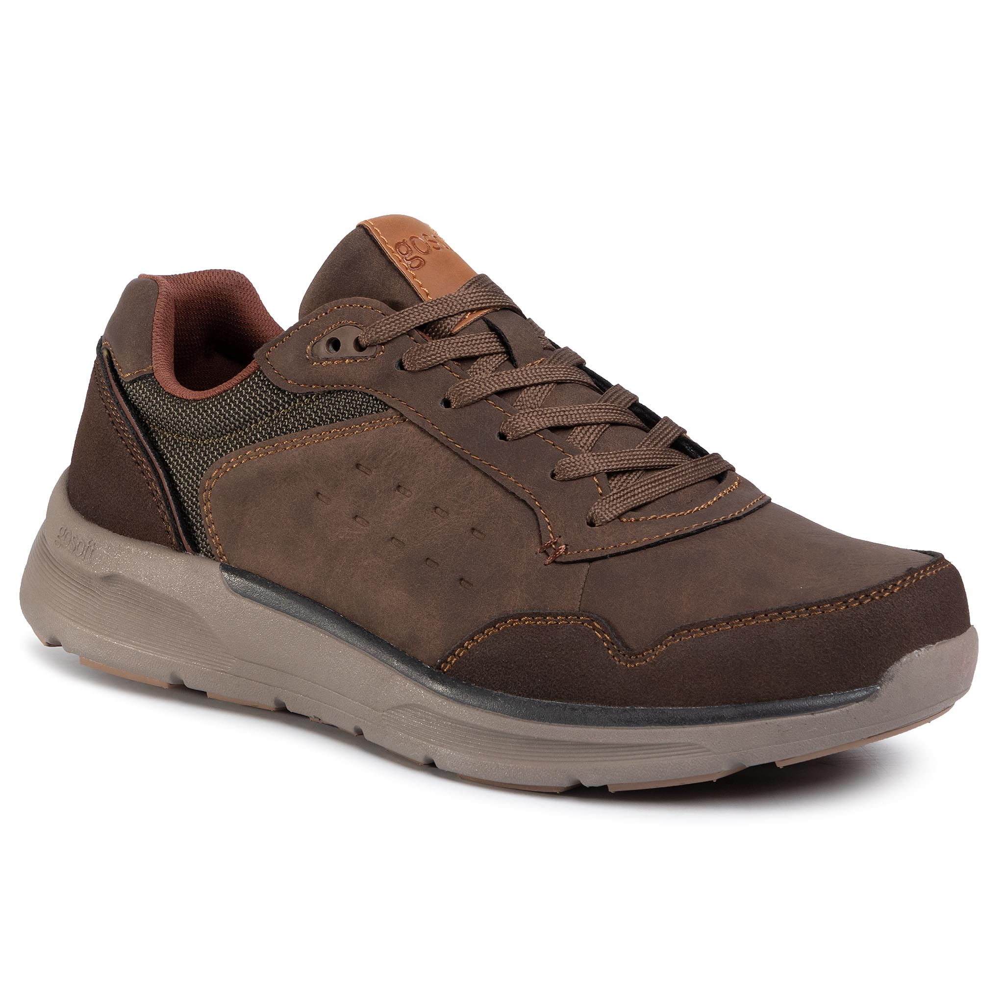 Sneakersy GO SOFT - GF19F295A-8 Brown