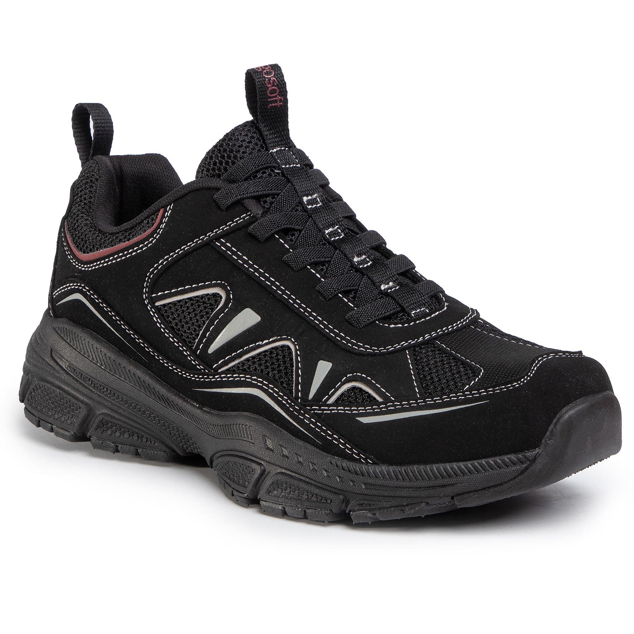 Sneakersy GO SOFT - GF19R272A-6 Black
