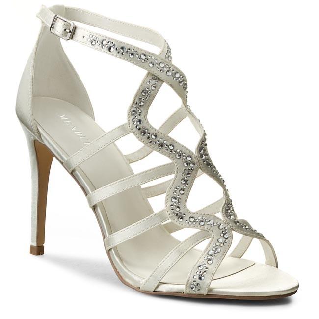 939bd815335d Sandále MENBUR - 06763 Ivory - Elegantné sandále - Sandále - Šľapky ...